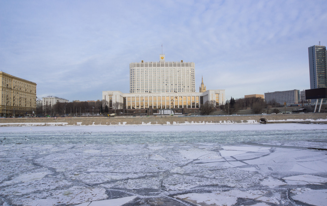 Government House of the Russian Federation-winter