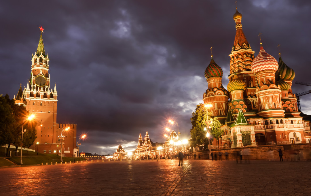 Views of Red Square and Vasilievsky spusk