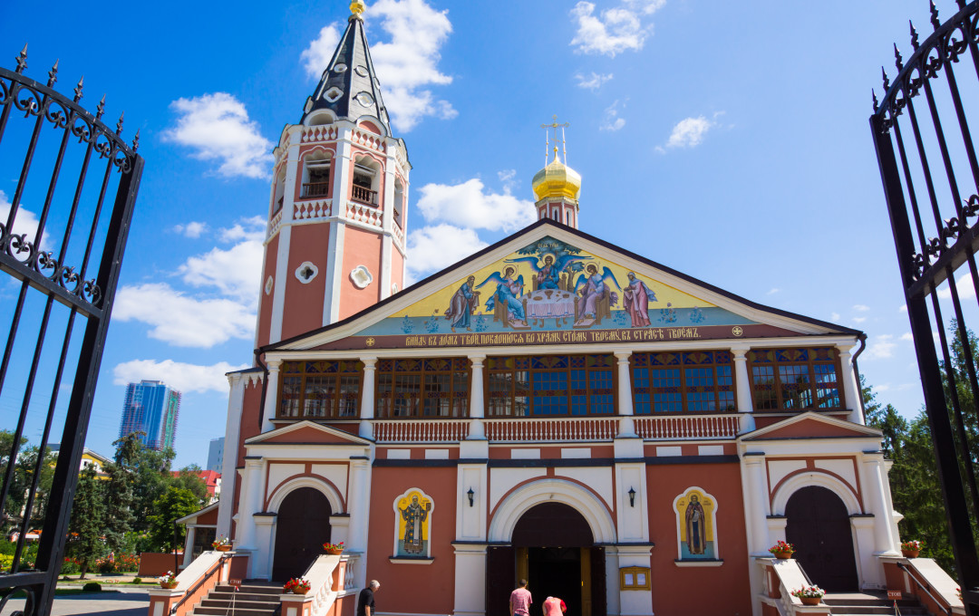 Holy Trinity Church à Saratov
