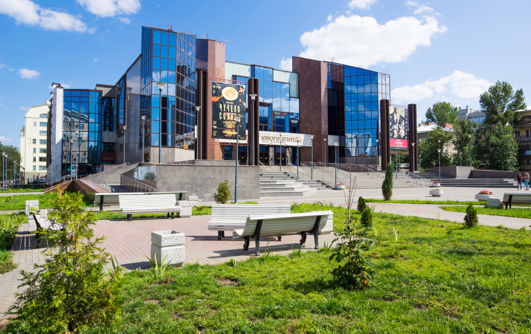 The new building of the Saratov youth theatre