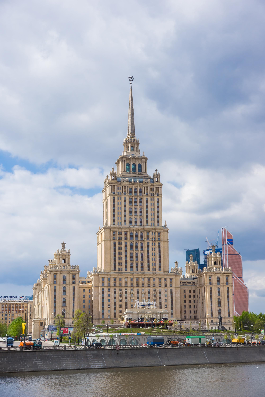 гостиница Украина - день