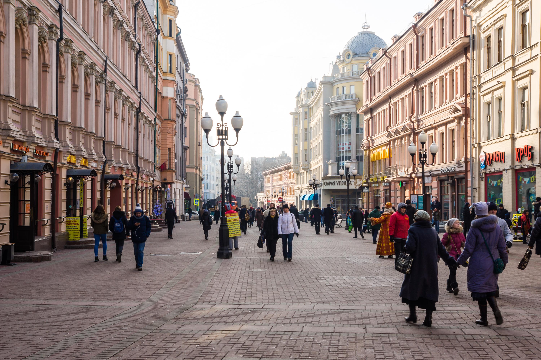 Красивые фото улиц москвы