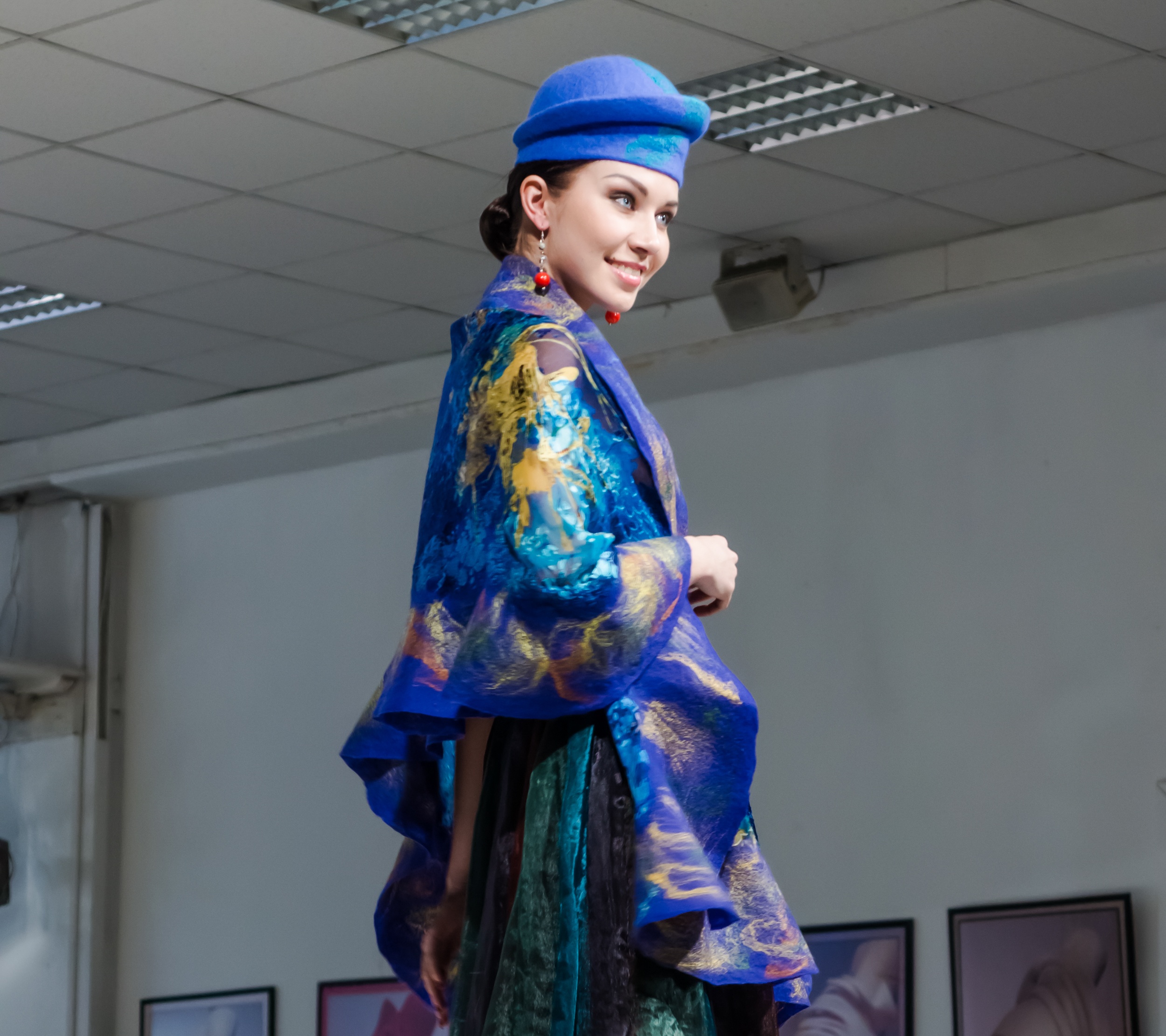 Foto-Modenschau in Moskau