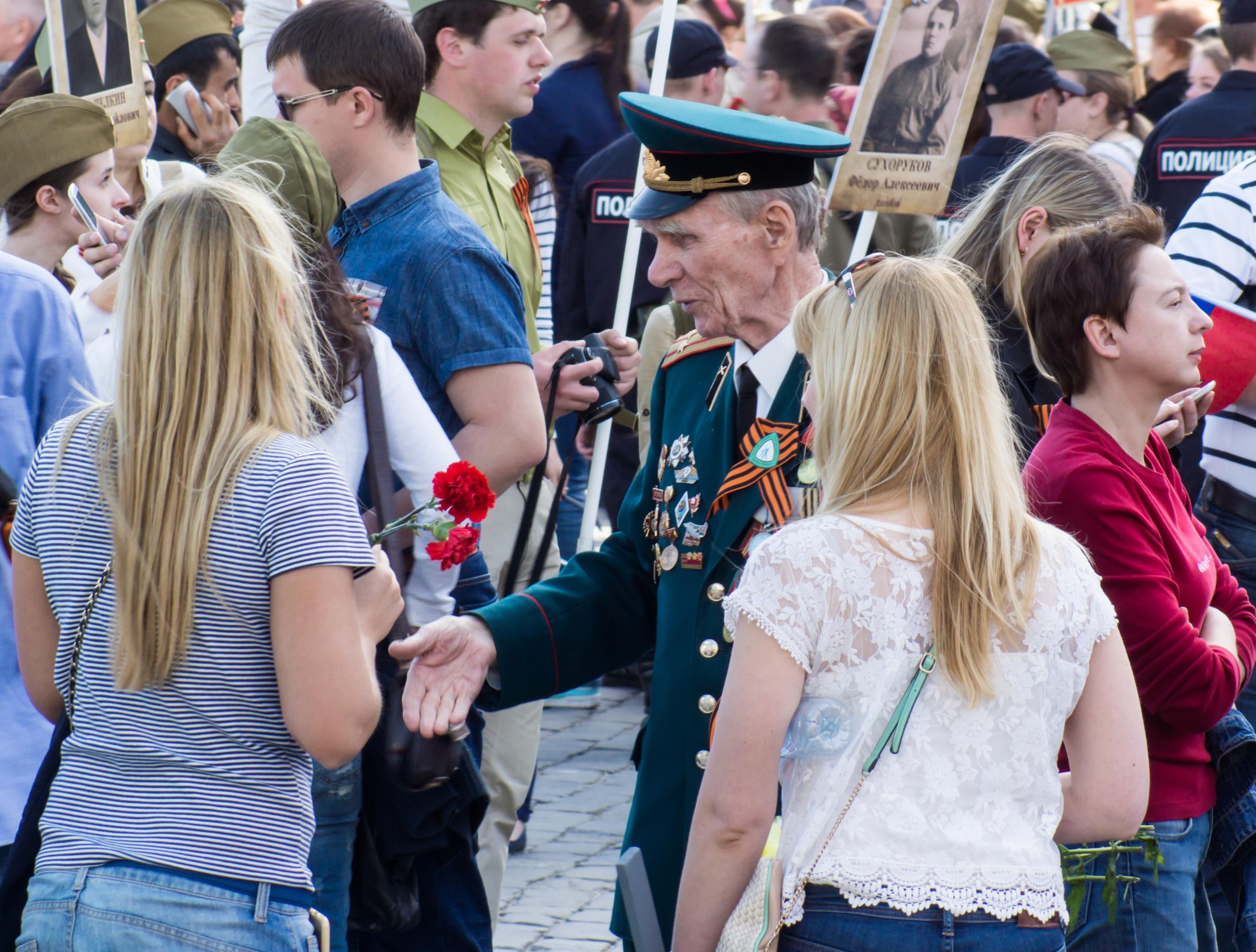 Vetran on shares of Immortal Regiment