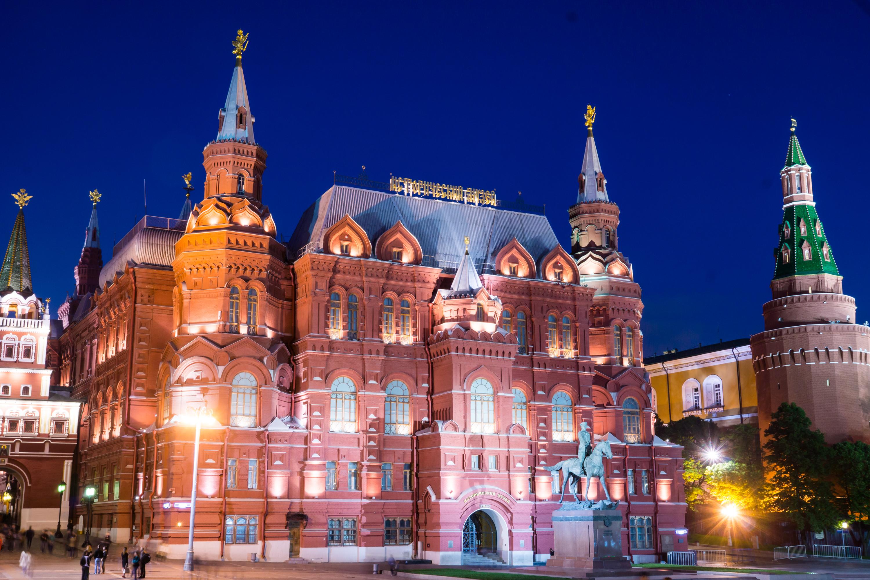 фотография гГосударственного исторического музея в Москве