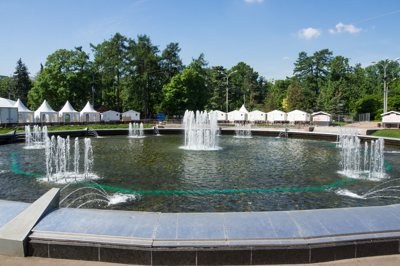 Brunnen in Sokolniki-Park