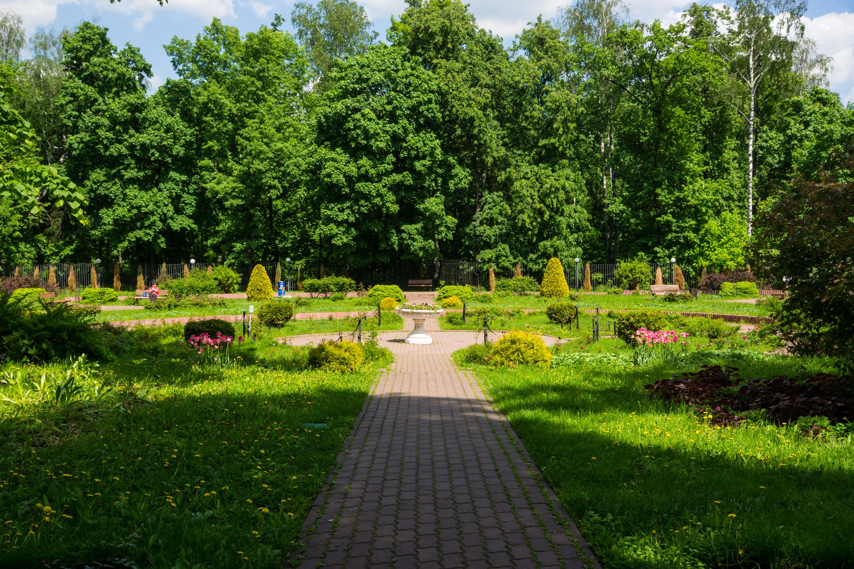 Малый розарий в парке Сокольники