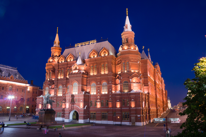 在莫斯科历史博物馆的照片