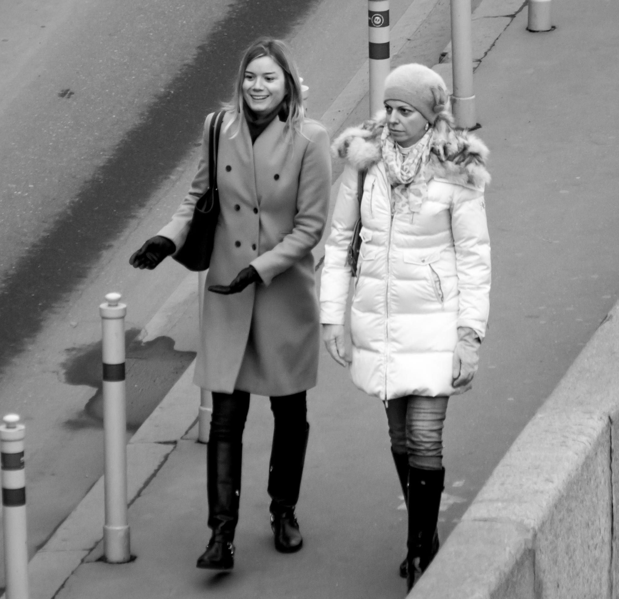 On the walk