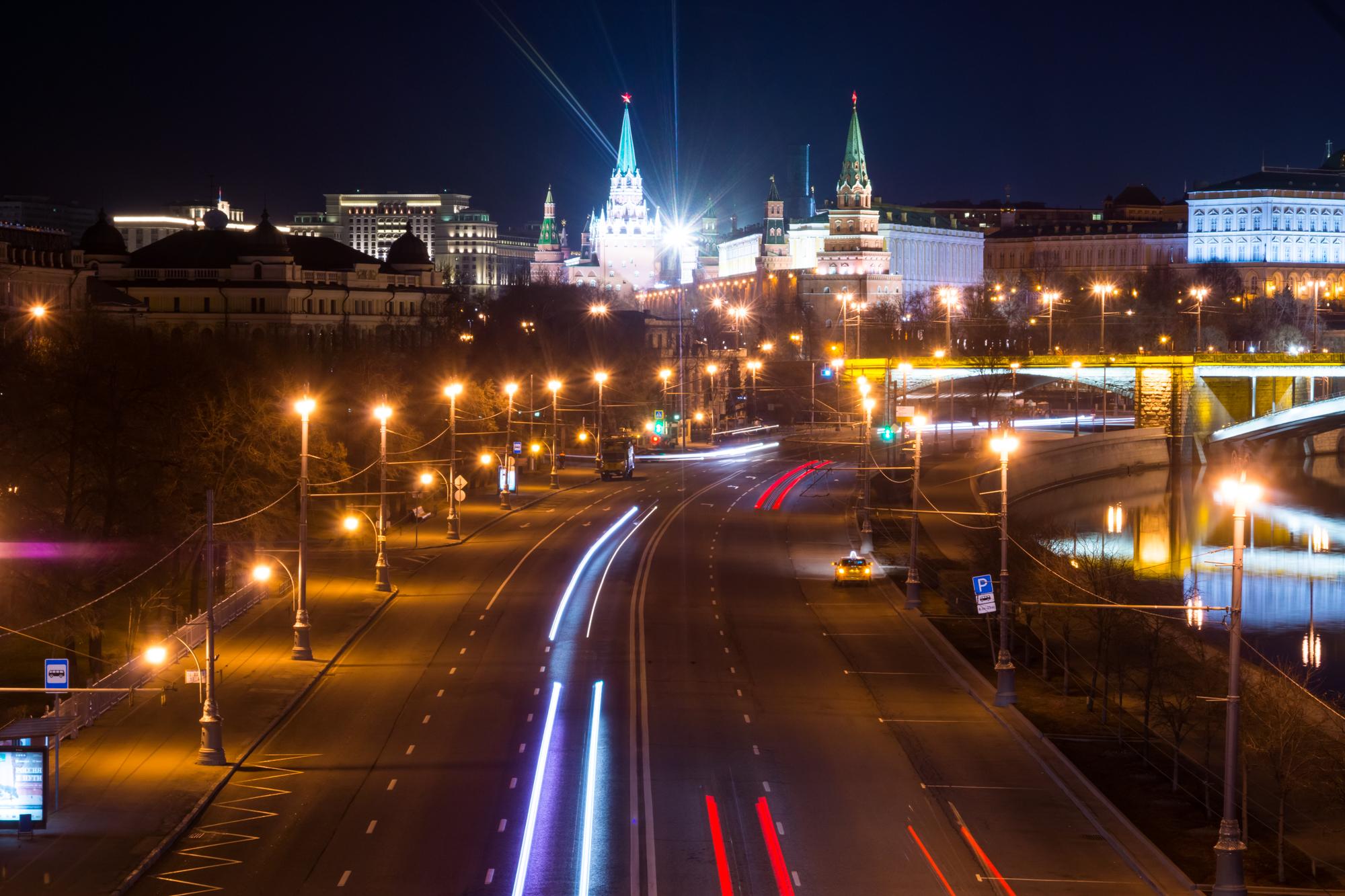 Ночная москва где фотографироваться