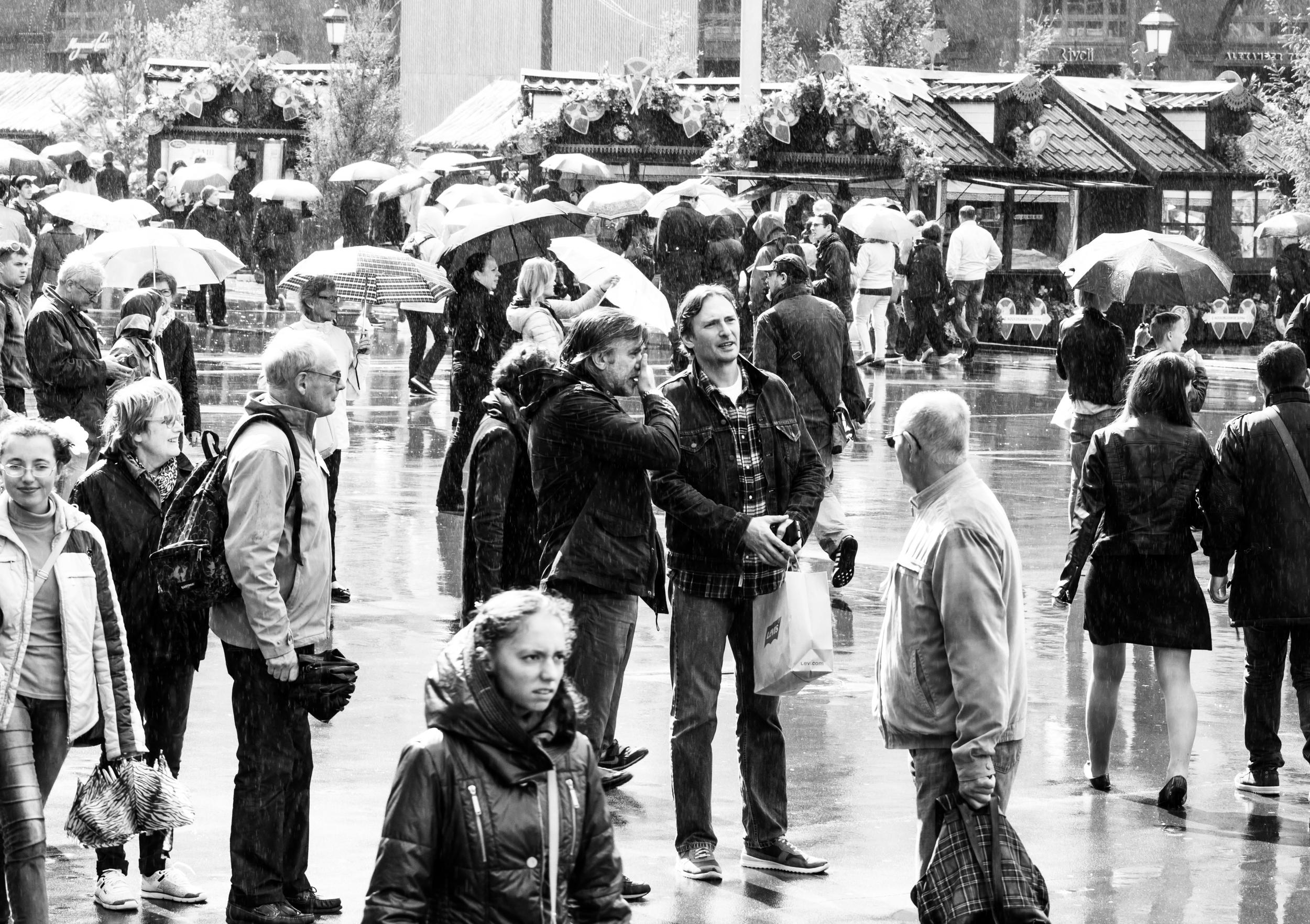 Lluvia de verano en Moscú