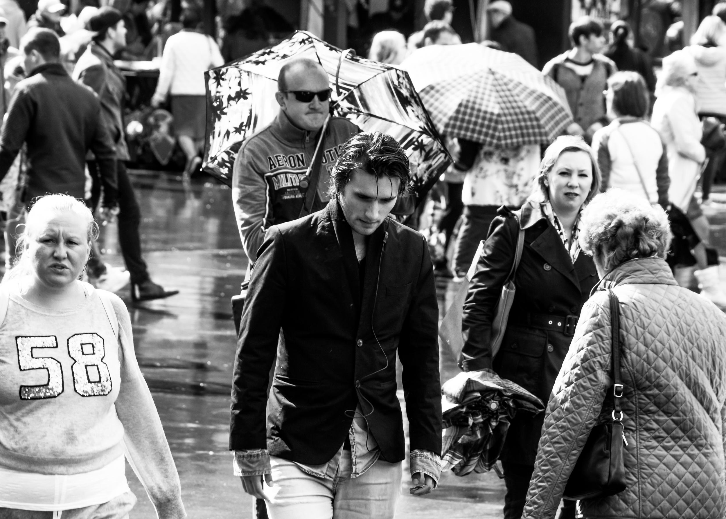 La lluvia de Moscú