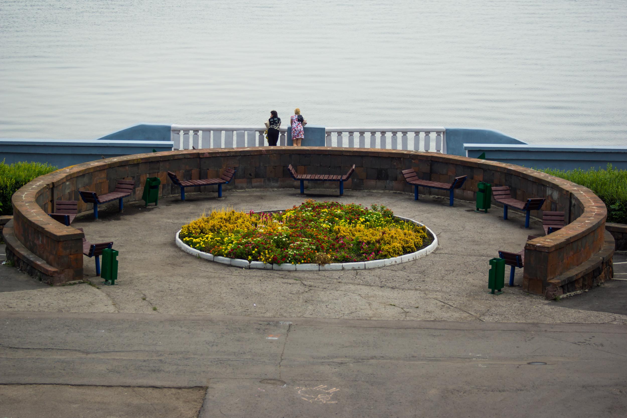 码头在萨拉托夫
