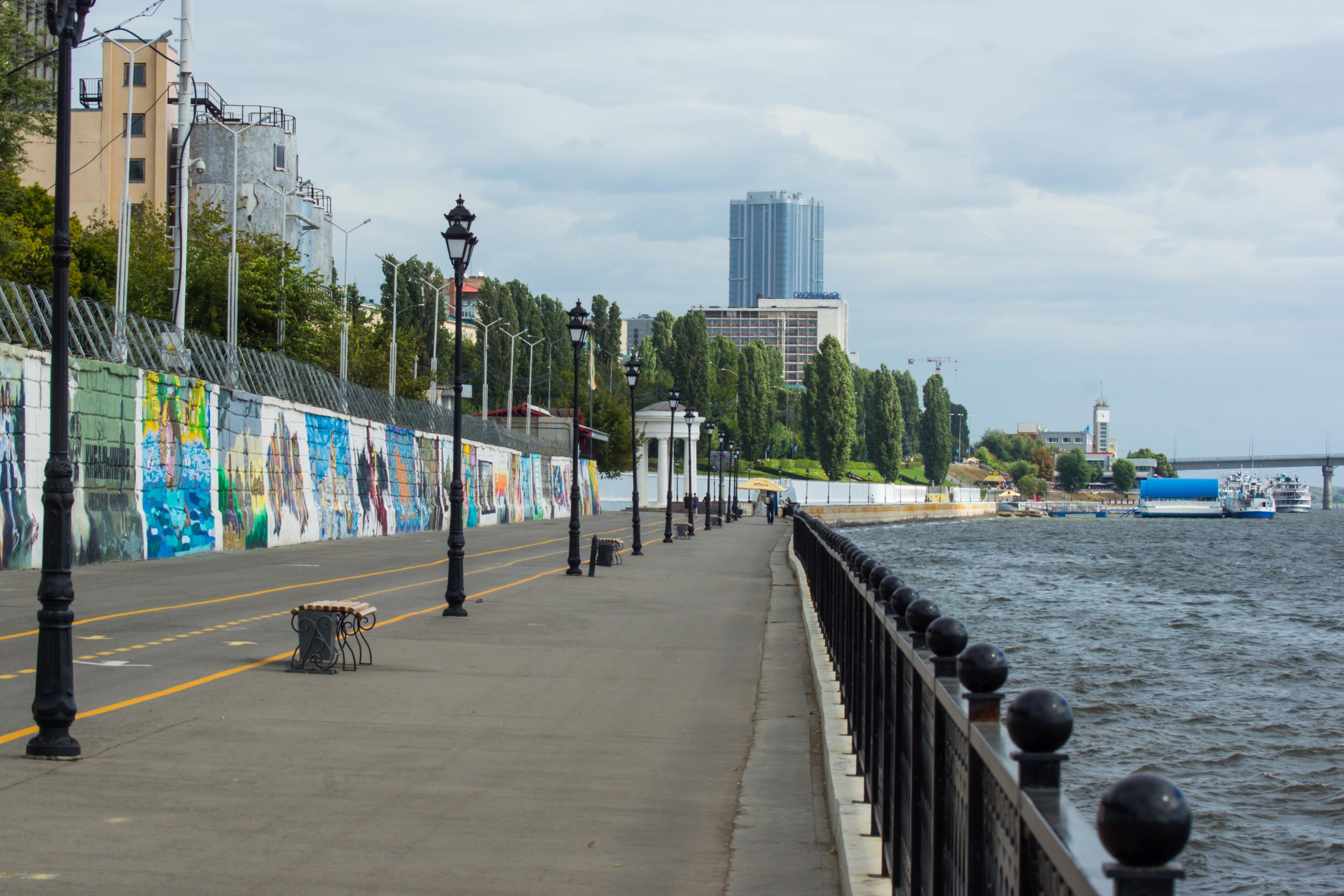 Новый участок Набережной