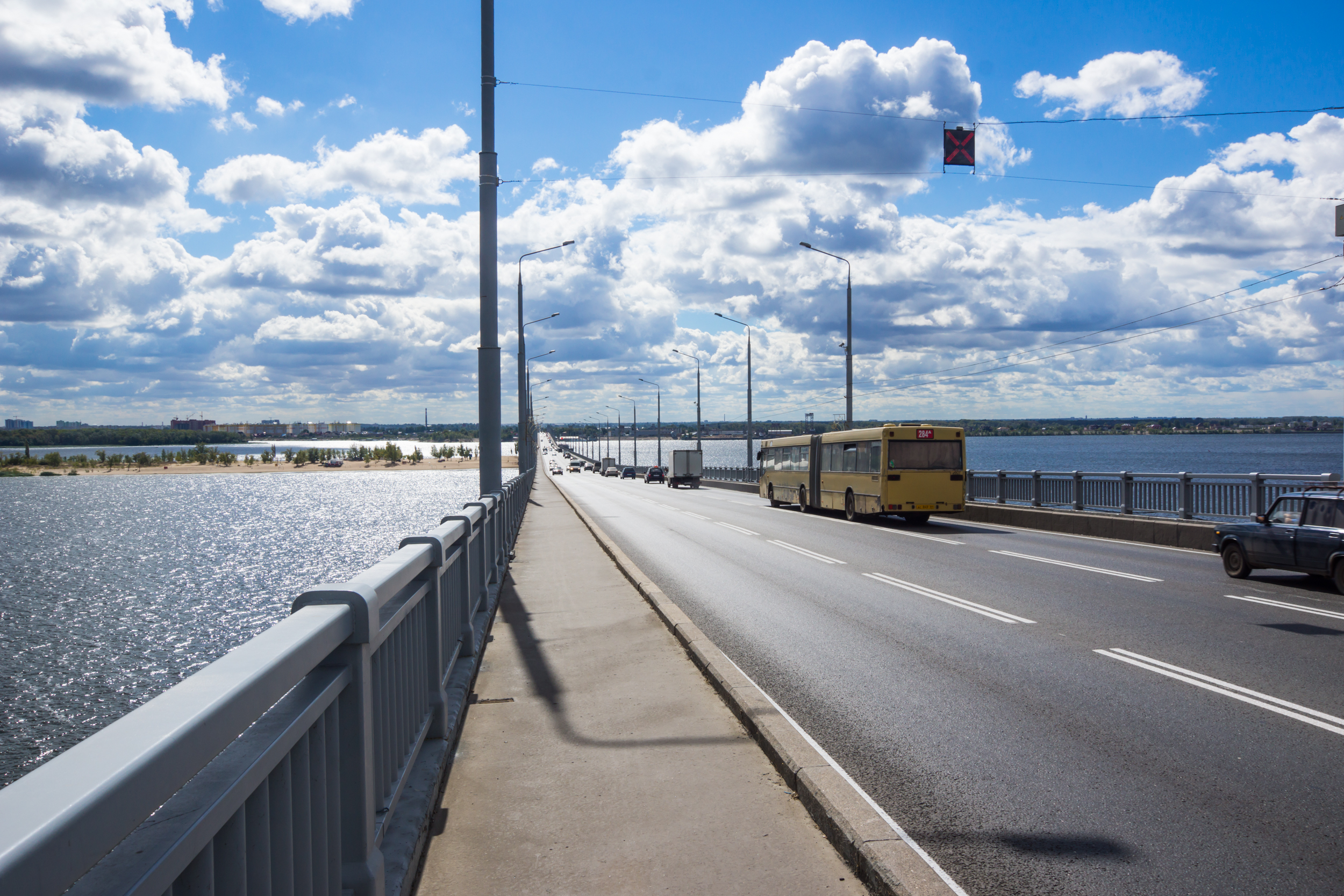 Saratov bridge 2016