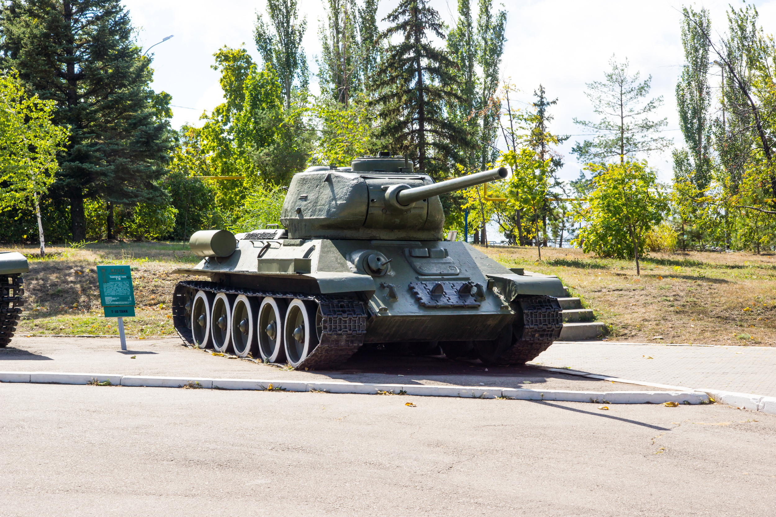 The legendary t-34 tank