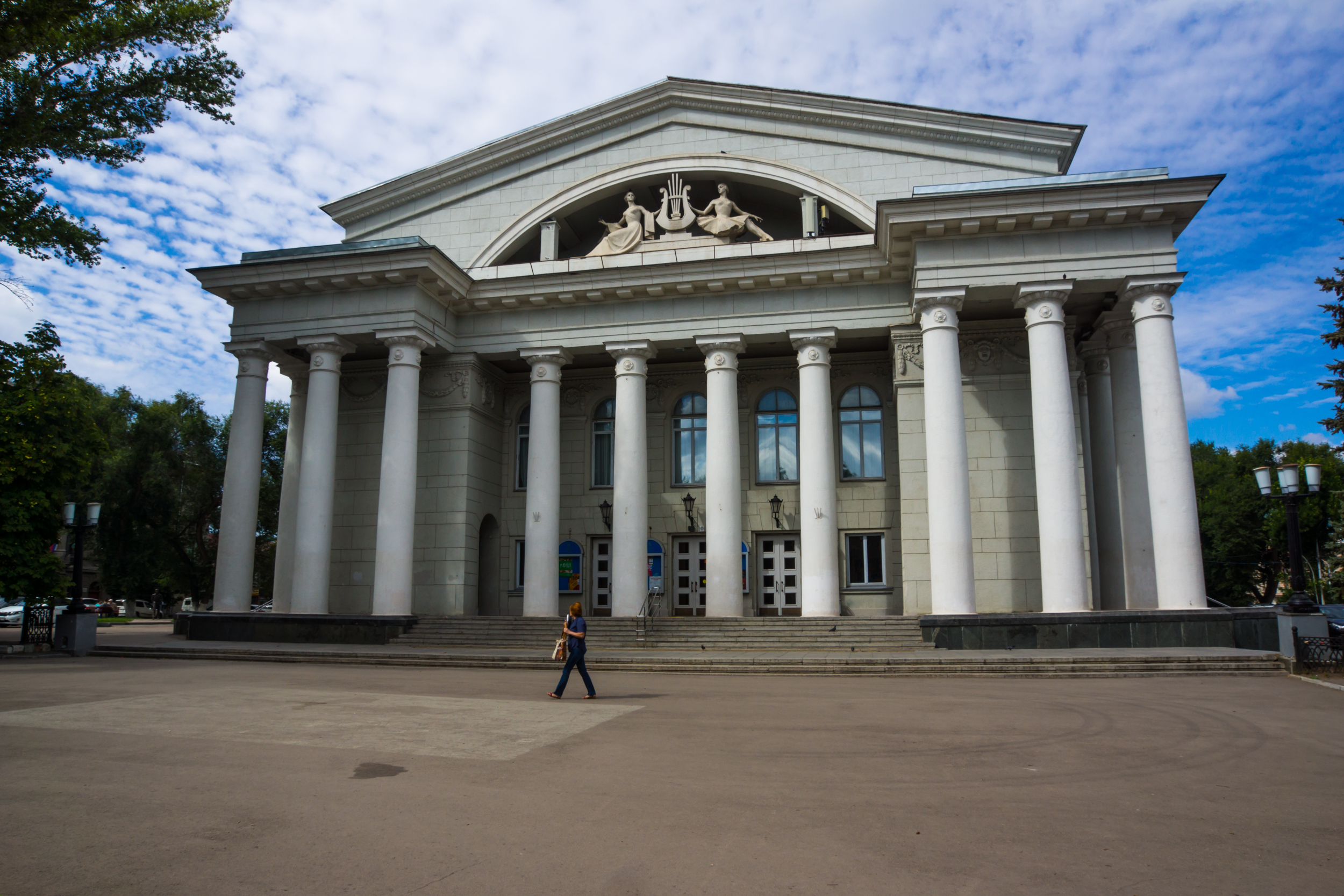 Opera and Ballet Theatre is one of the oldest theatres in Russia