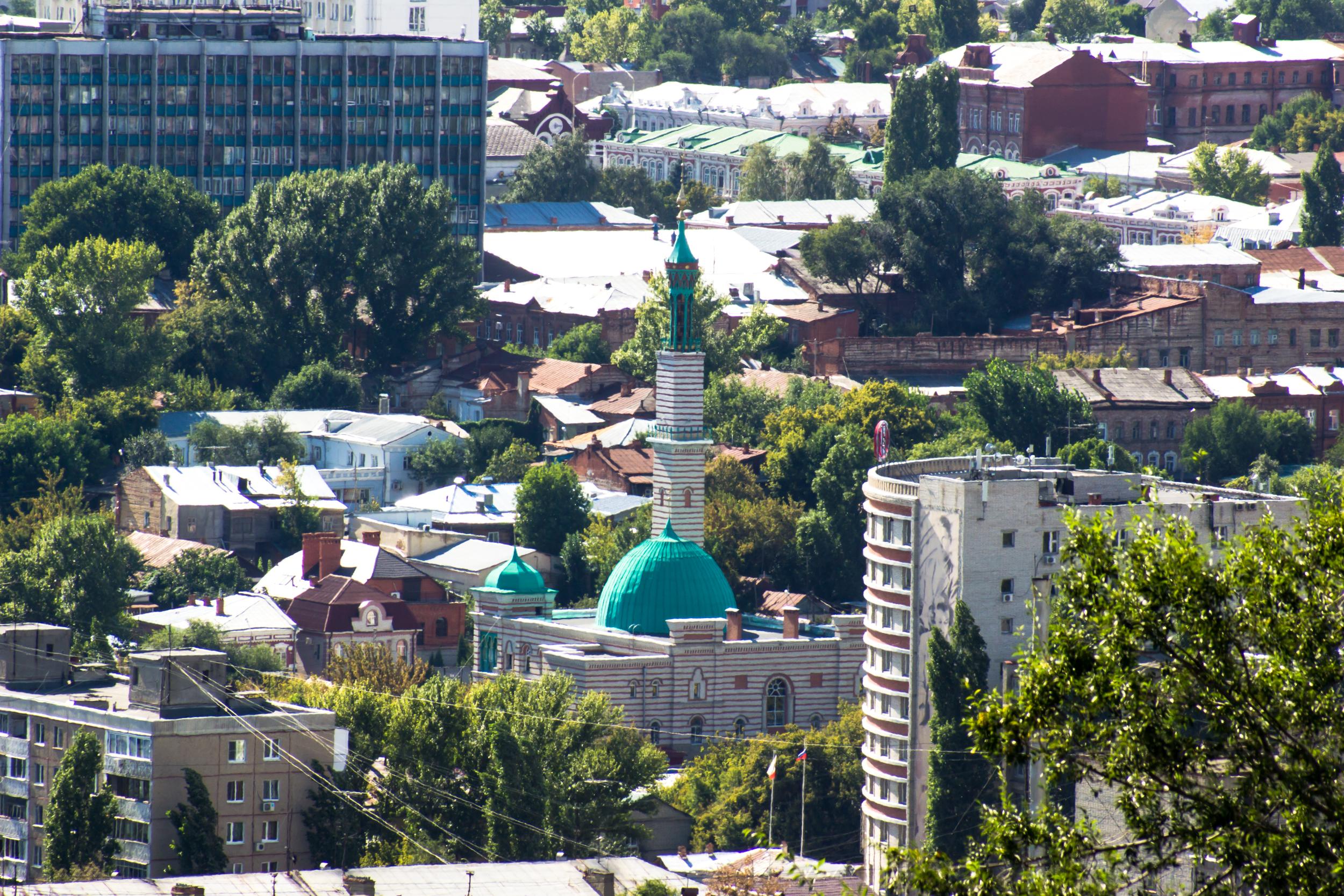 Vista de la mezquita de Saratov