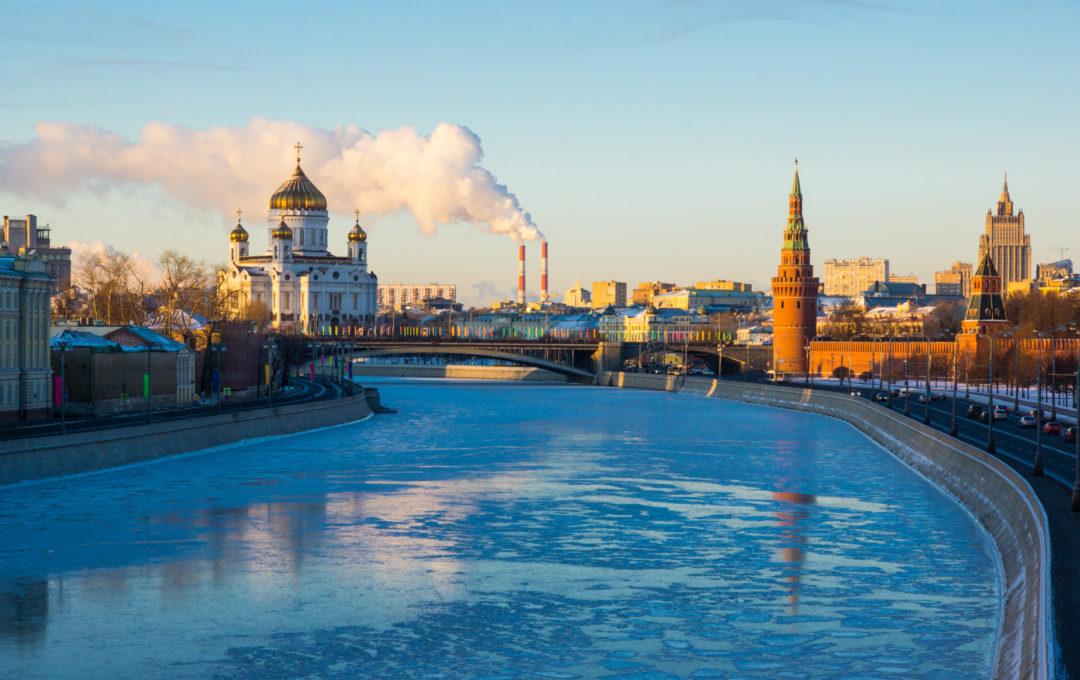 Москва зимой фото разных лет