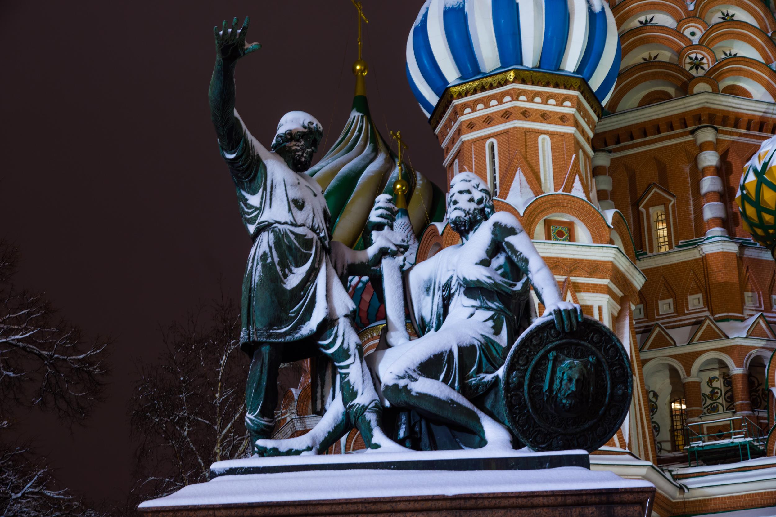 Памятник Минину и Пожароскому