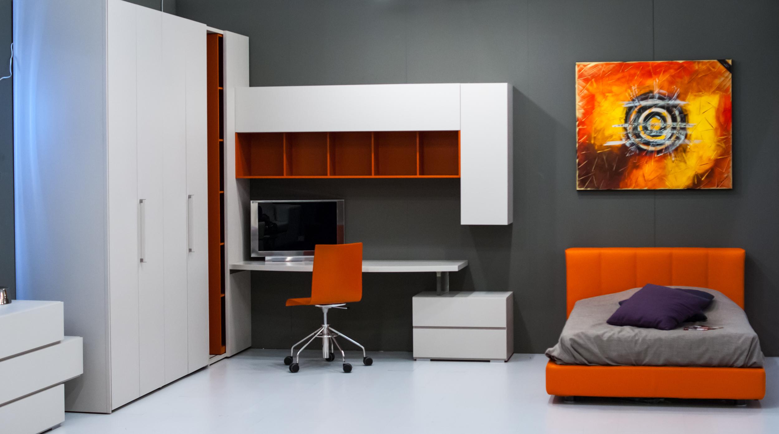 Интерьер современной комнаты подростка