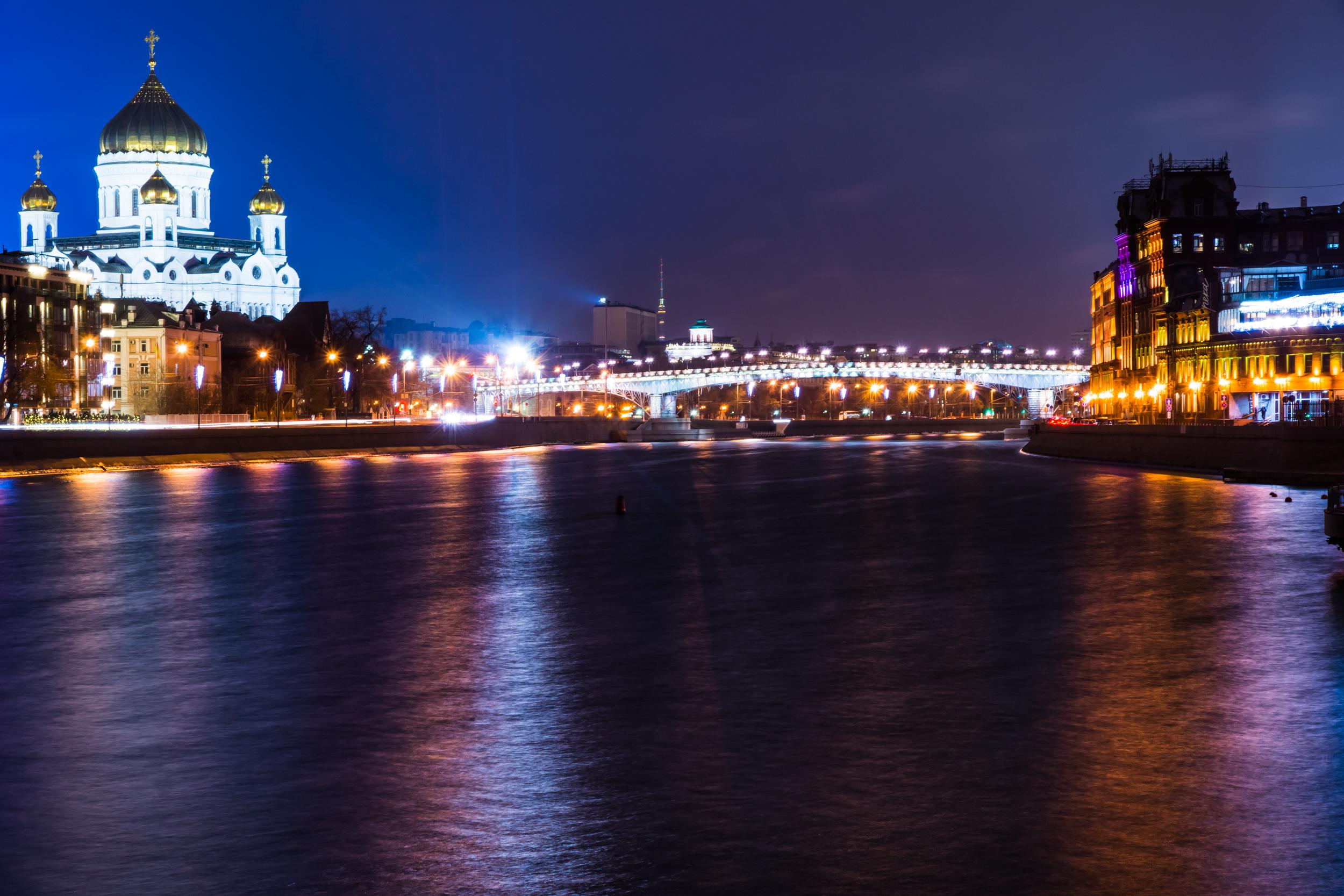 Зимняя Москва фото