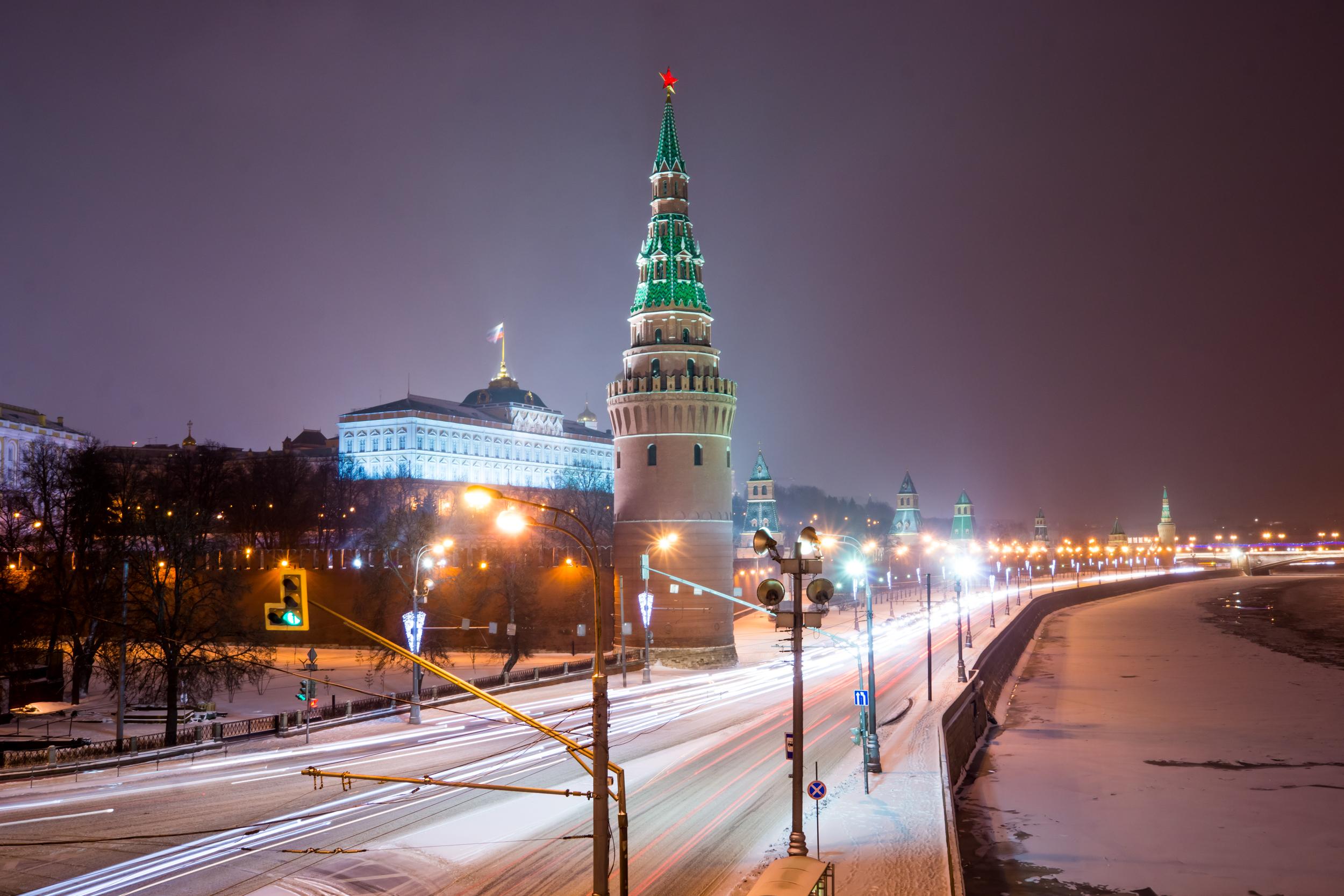 Фото зимней Москвы
