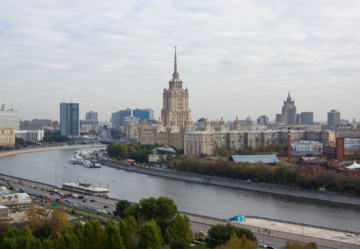 Photo Moscow river