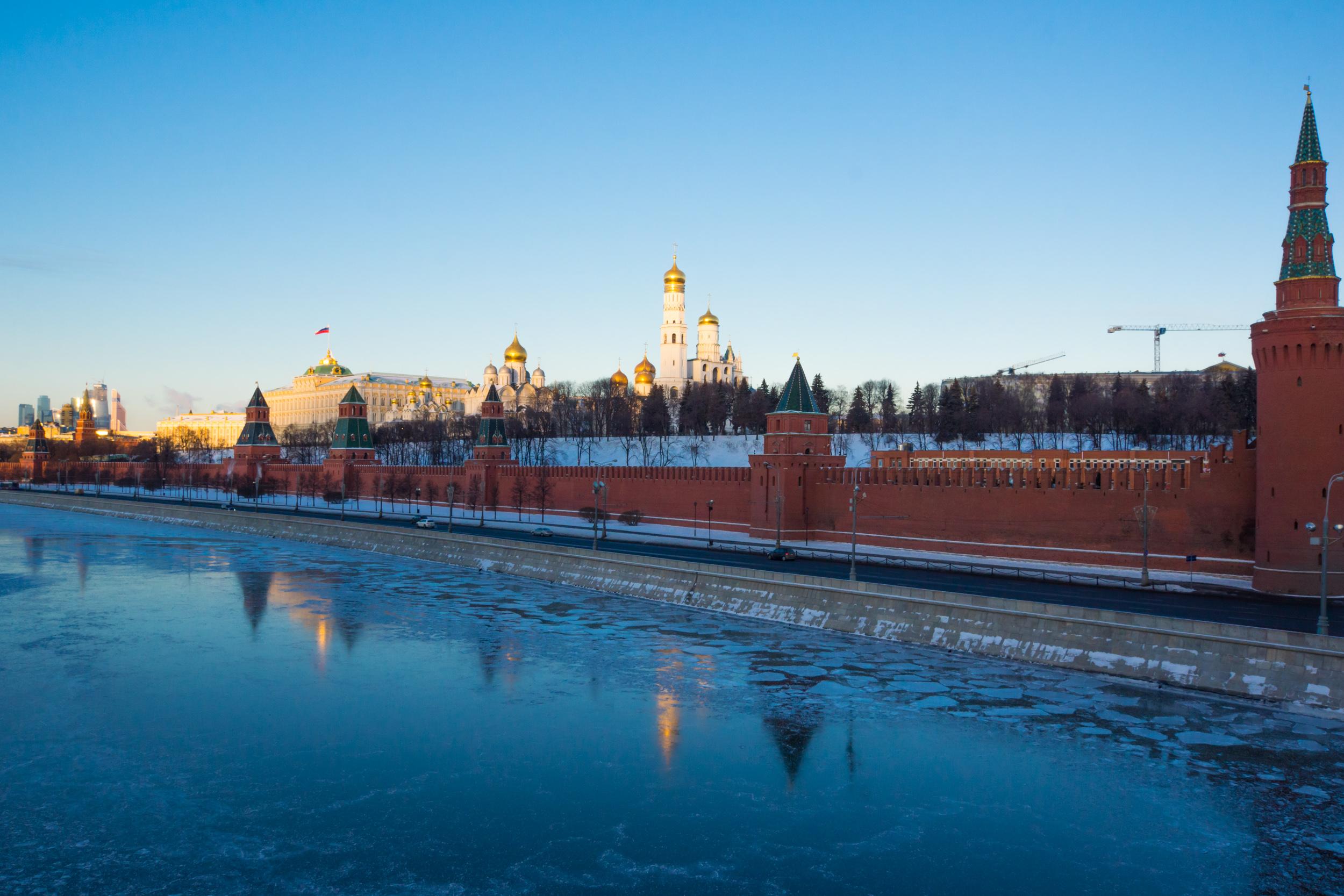 Вид на Кремлевскую набережную