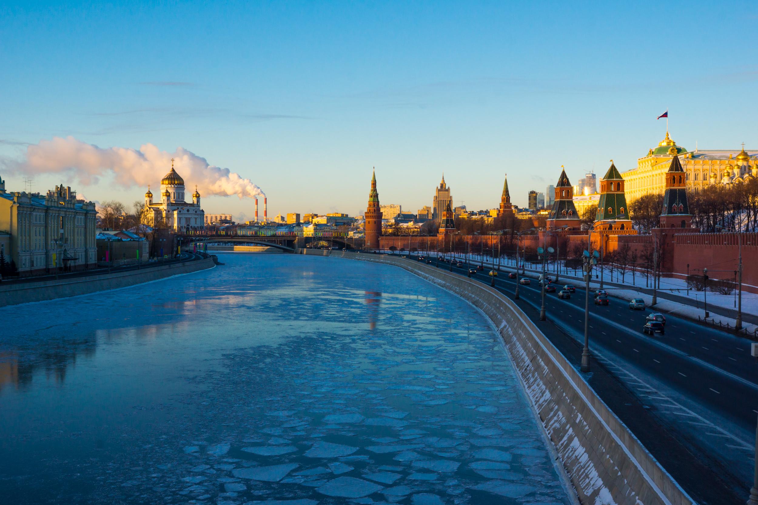 фото Москва реки зимой