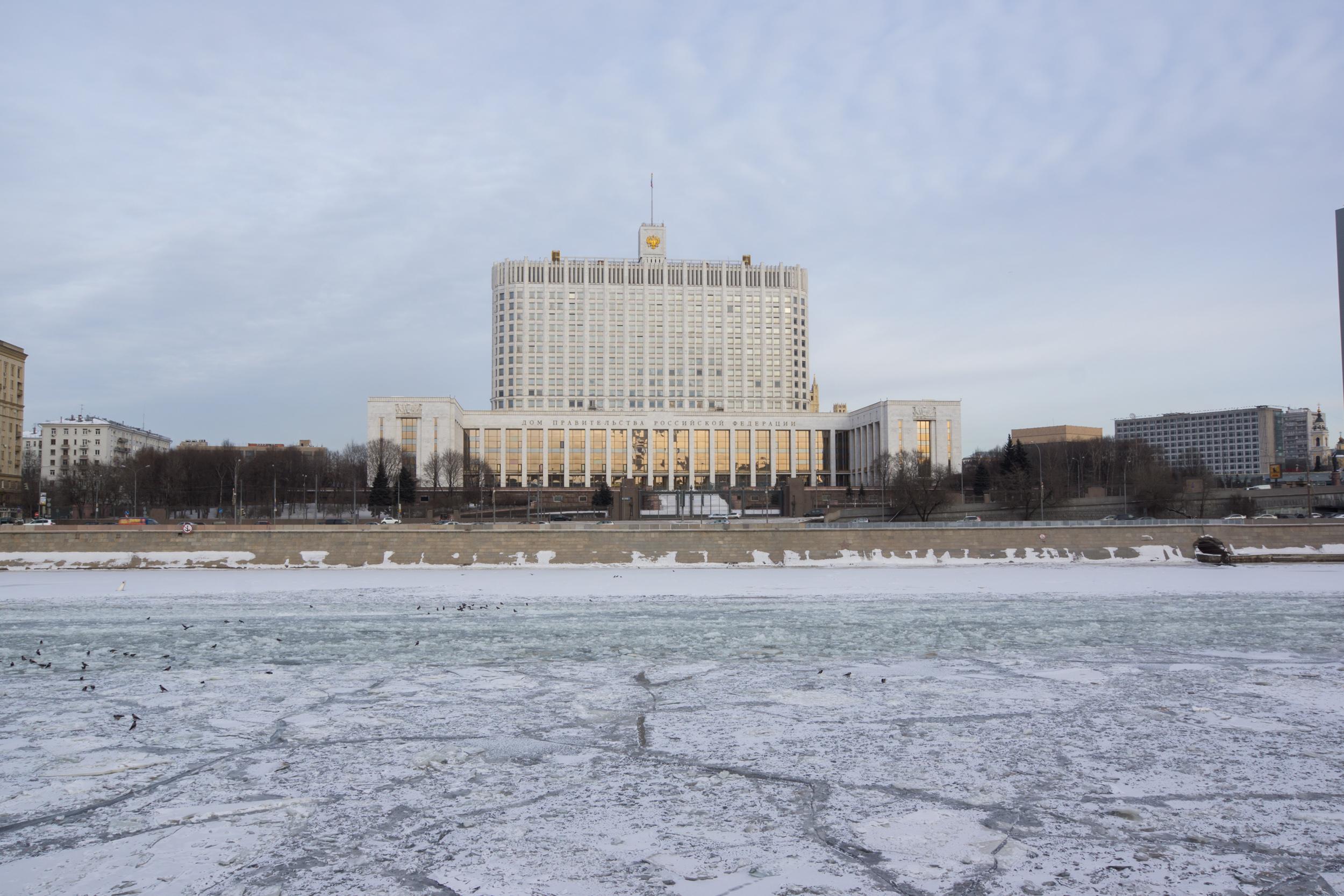 Дом Правительства на Москва реке