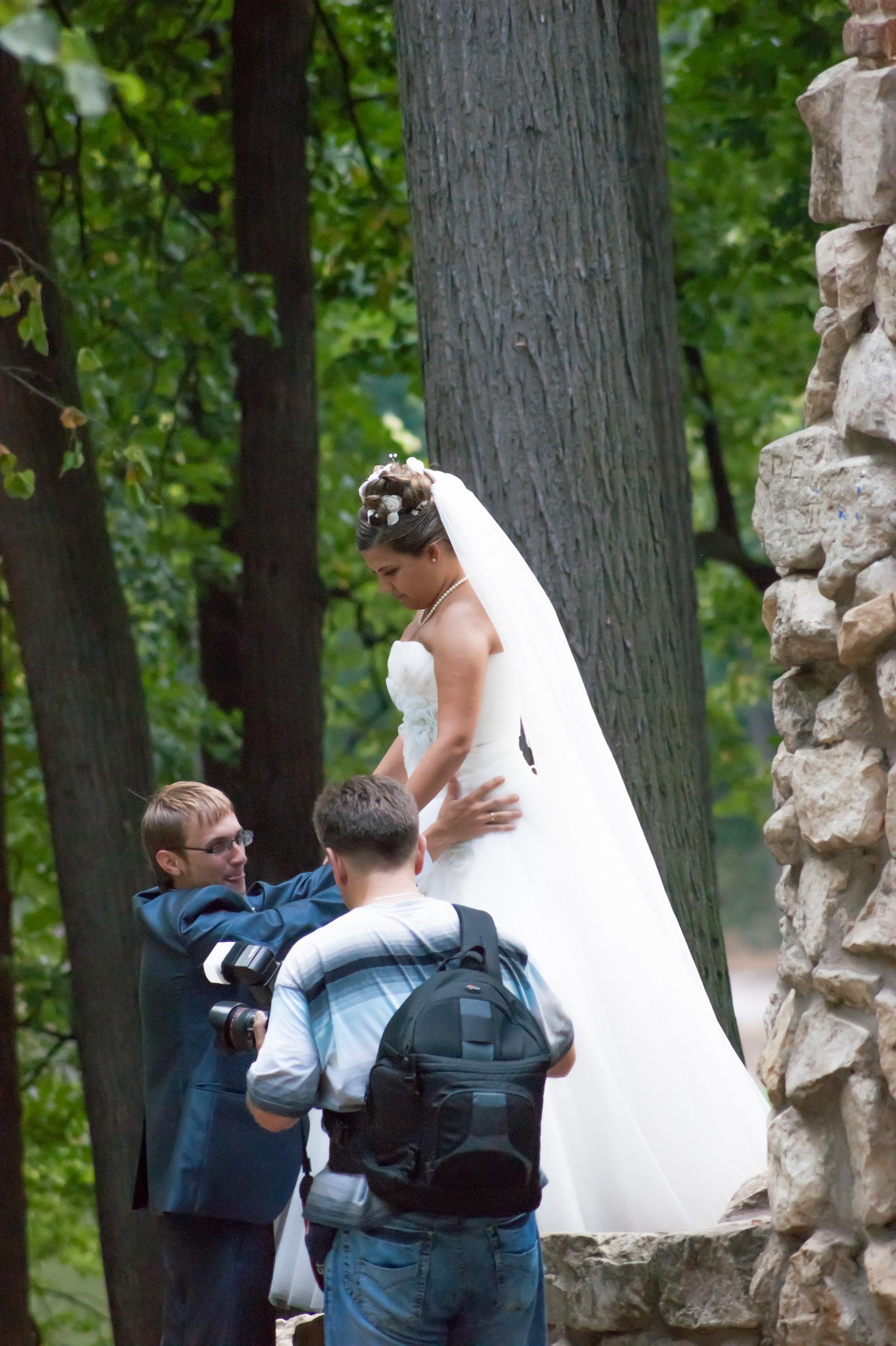фото Царицыно - свадебная фотосессия