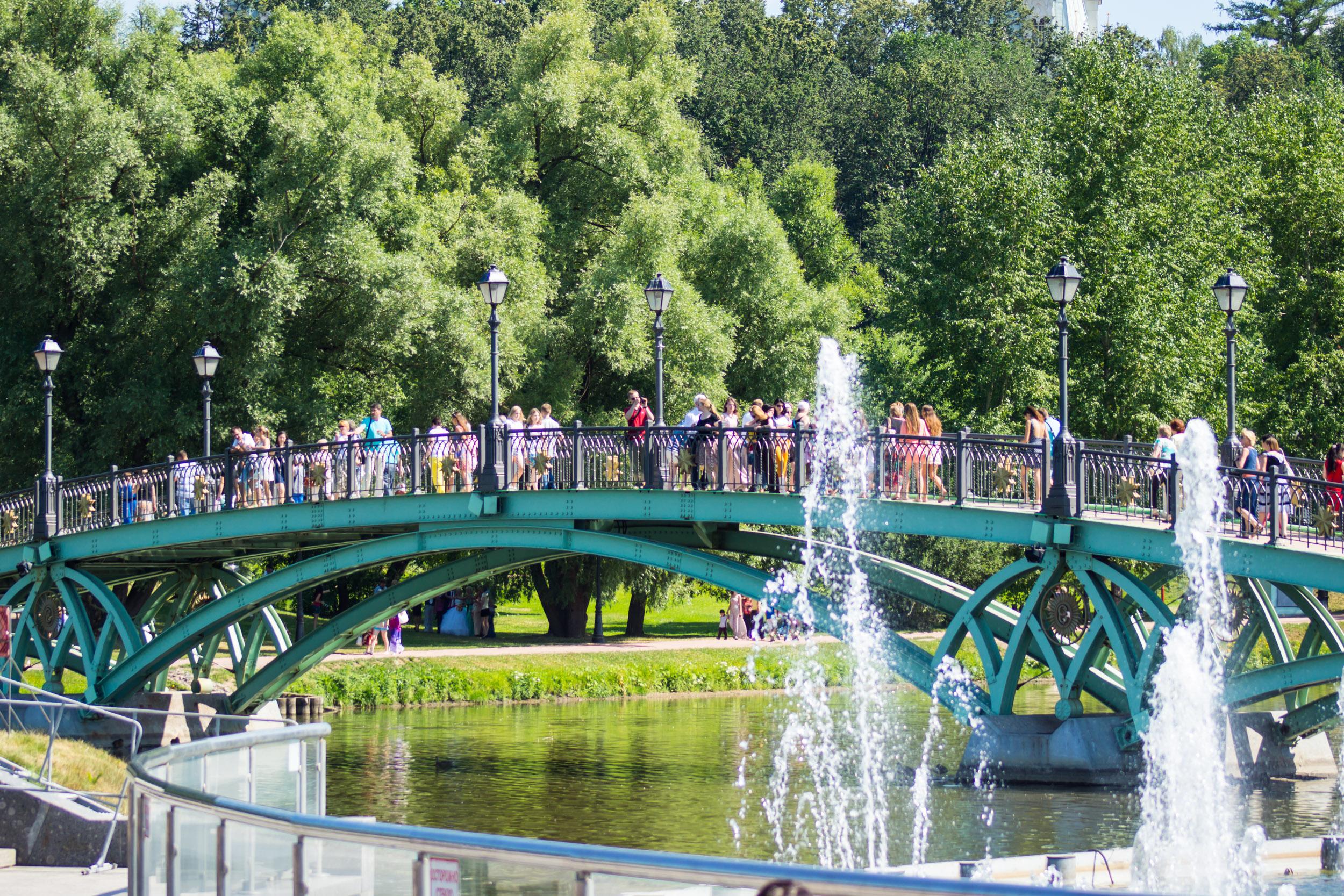 мост в Царицыно