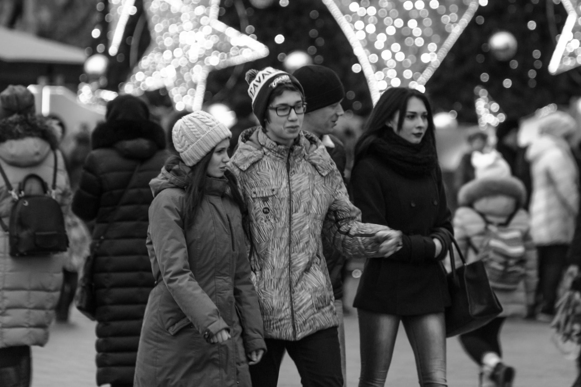 уличное фото Москвы 2017