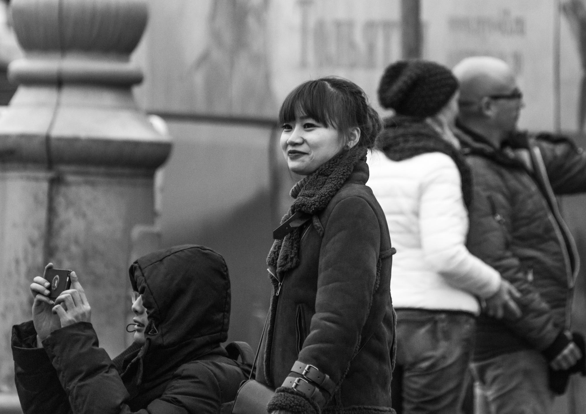 Туристы в Москве 2017