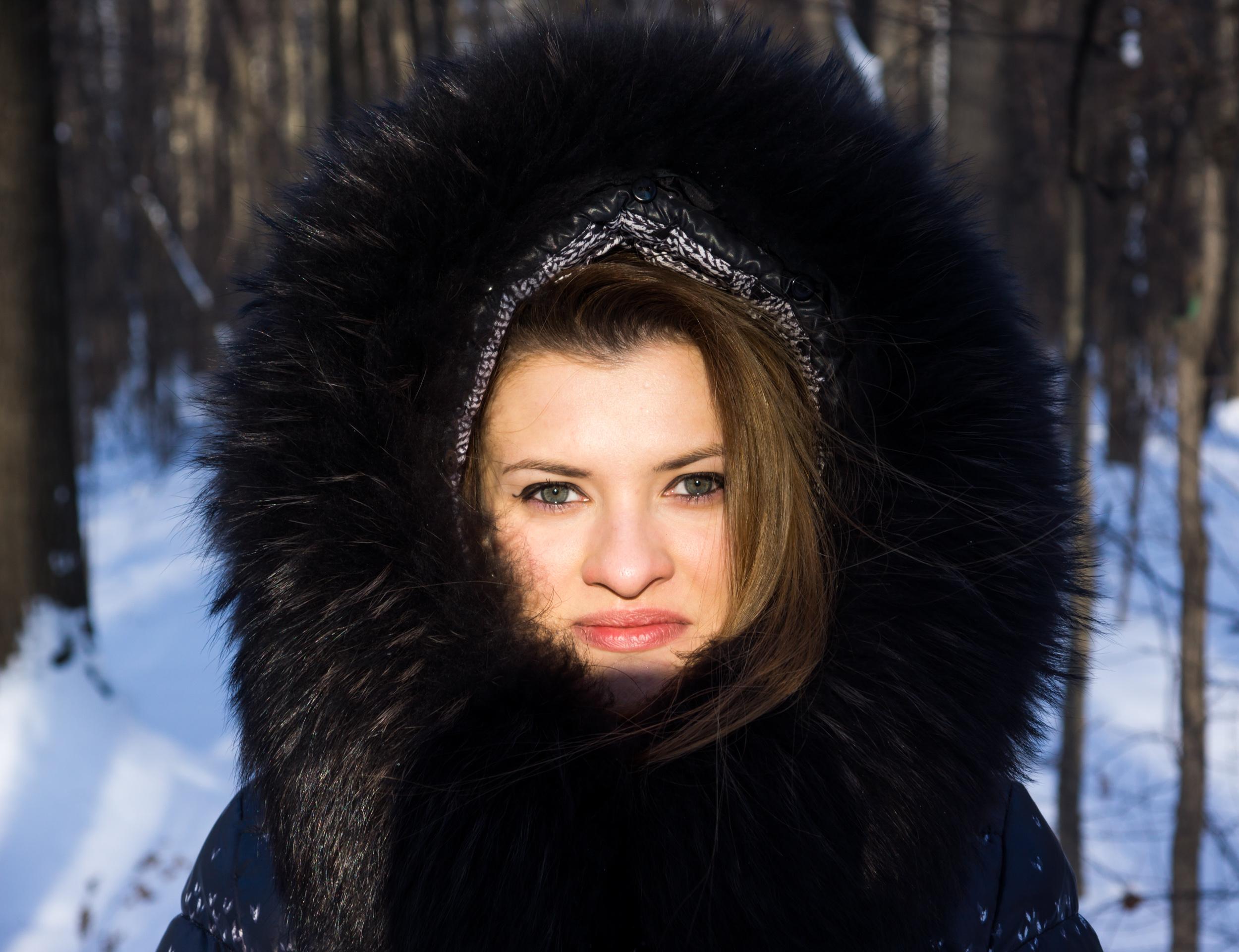 как сфотографироваться зимой в Москве