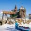 Парк Лукоморье в совхозе им. Ленина  – фото, зима 2017 год