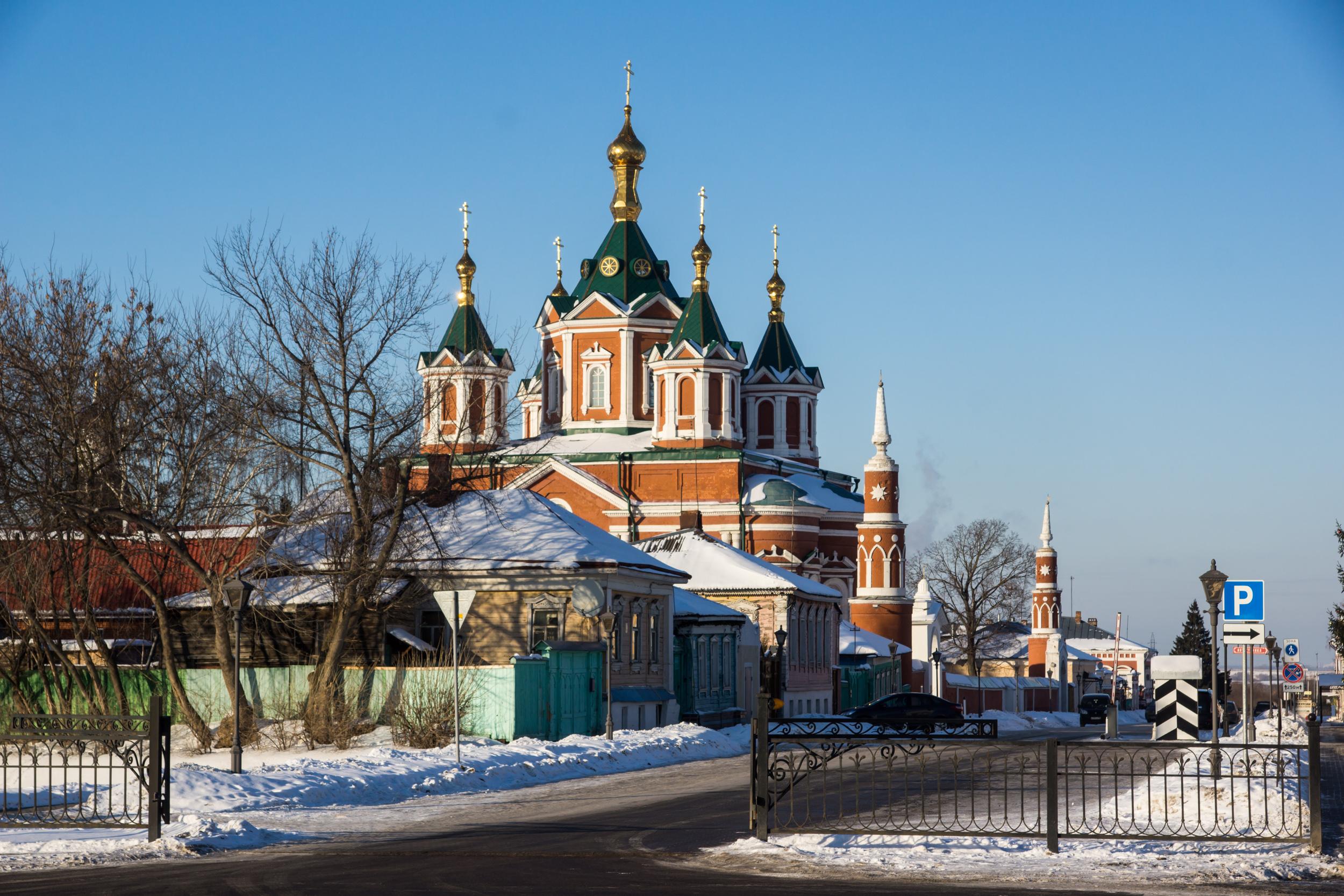 Крестовоздвиженский Собор - Успенский Брусенский монастырь
