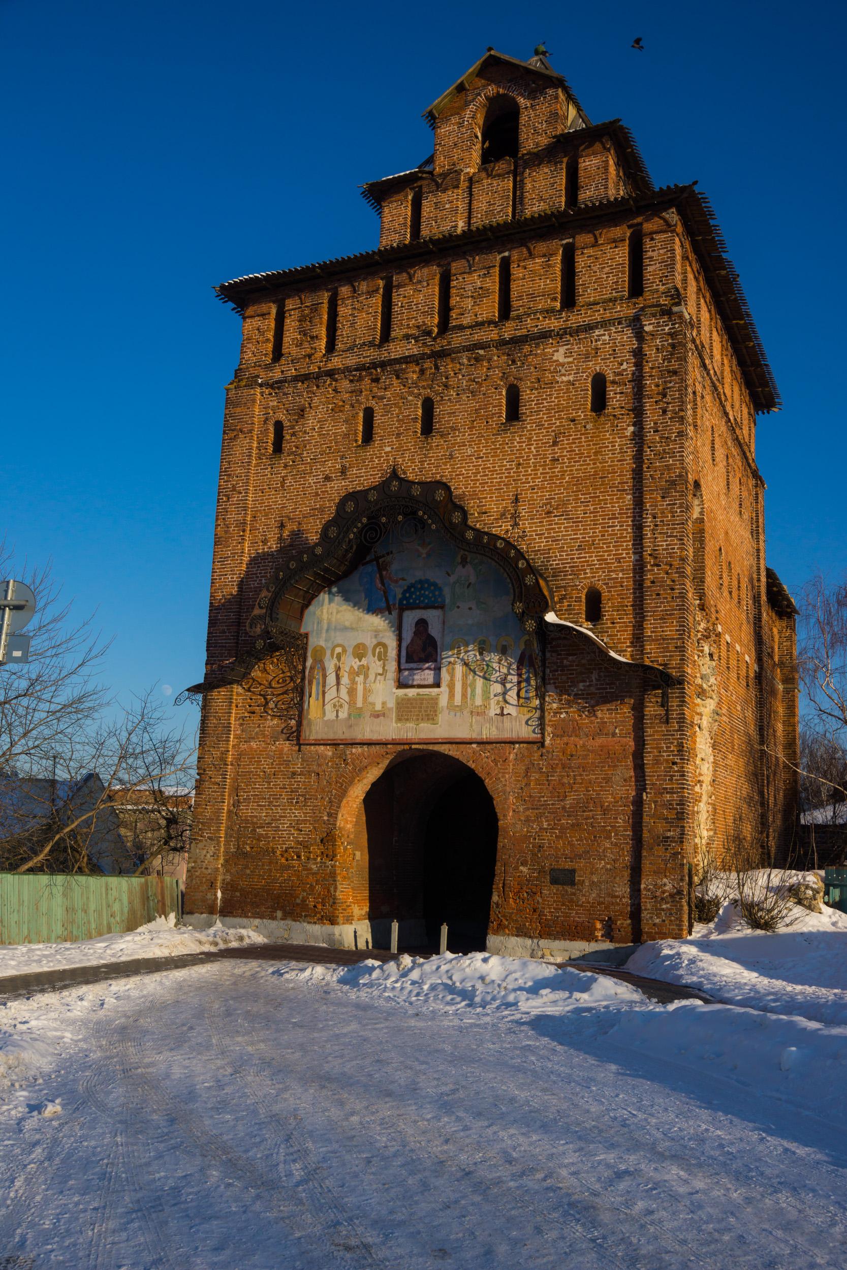 Коломенский кремль - Пятницкая башня