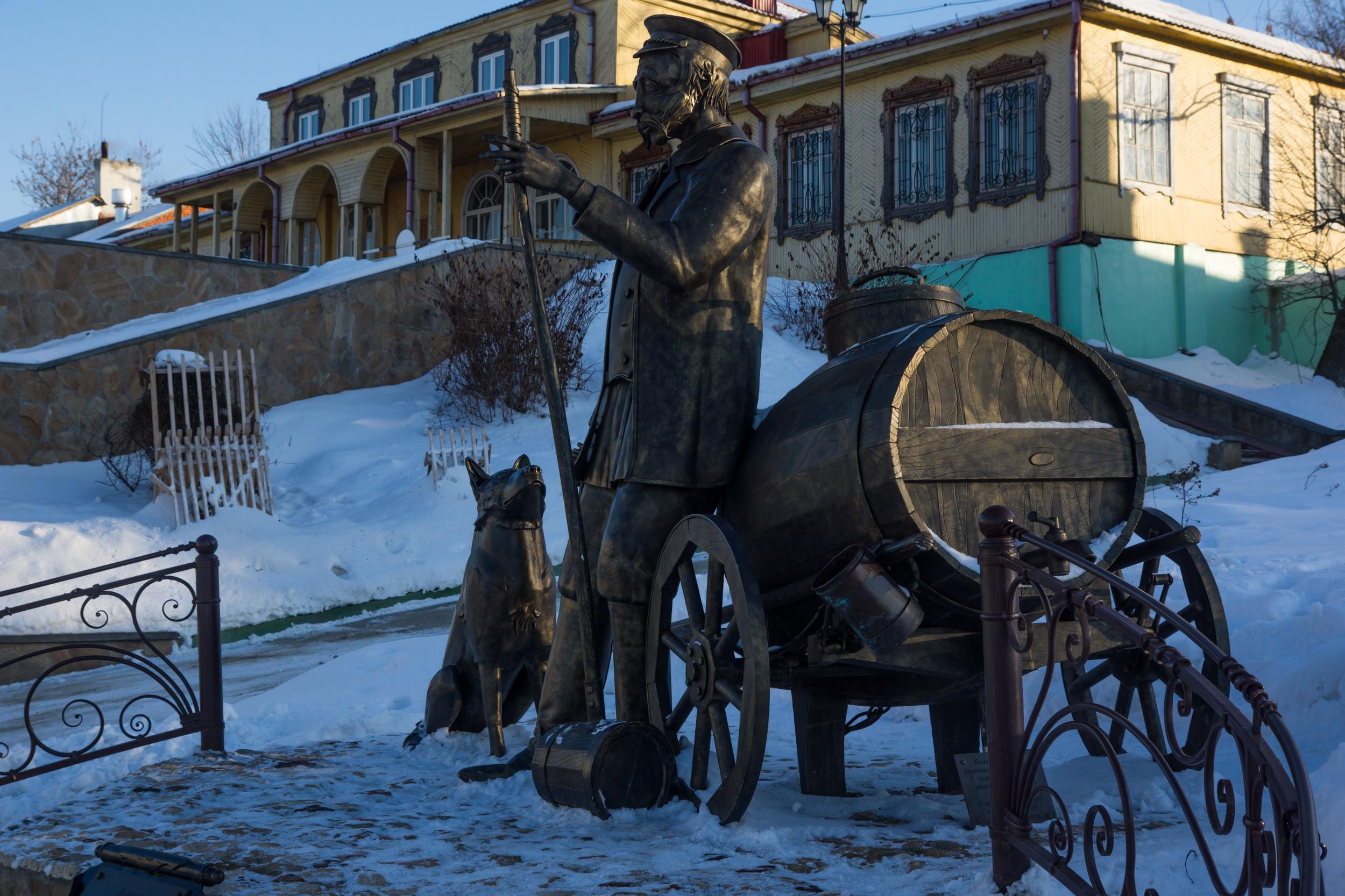 """Памятник """"Коломенский Водовоз"""""""