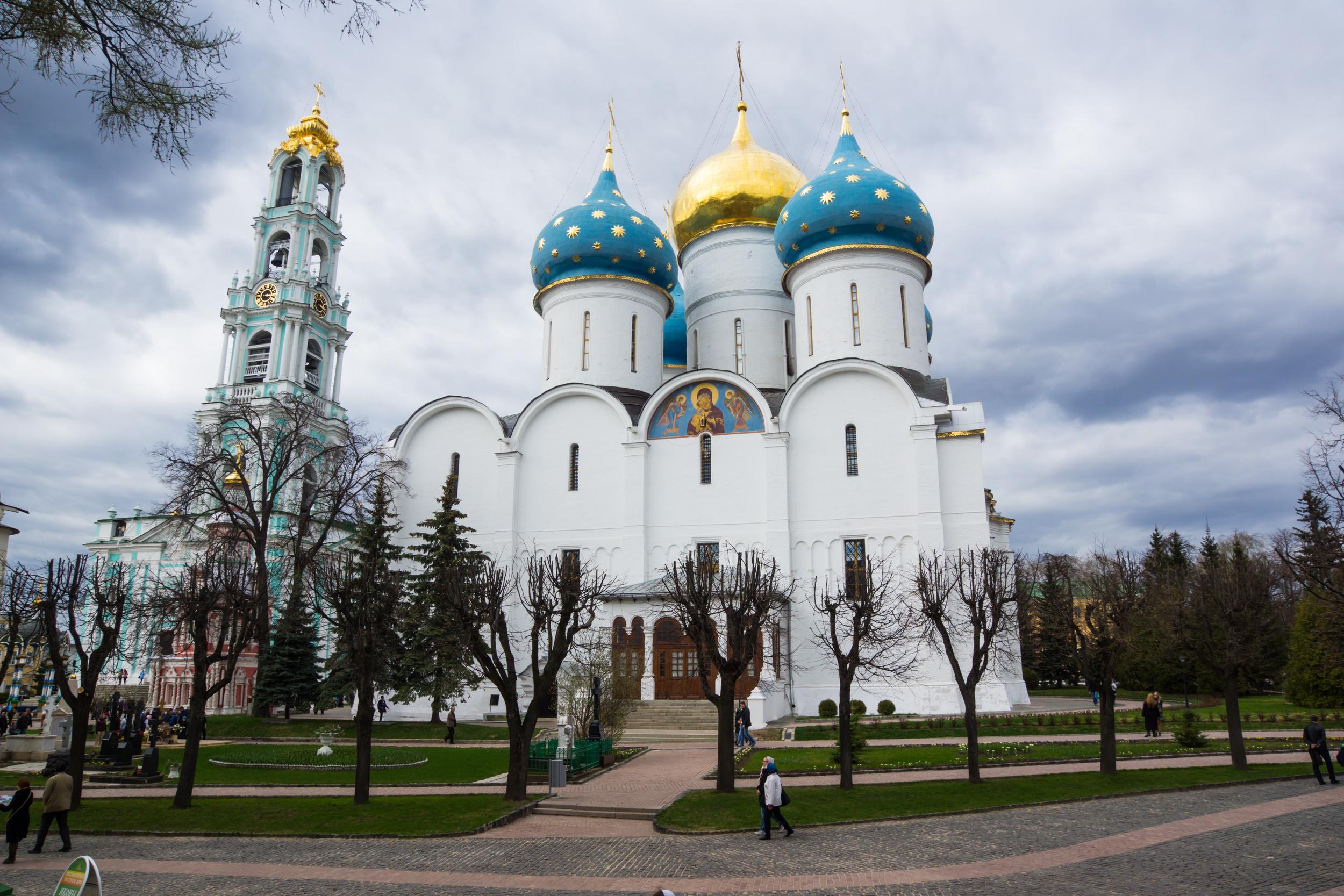 Фото Троице Сергиевой Лавры
