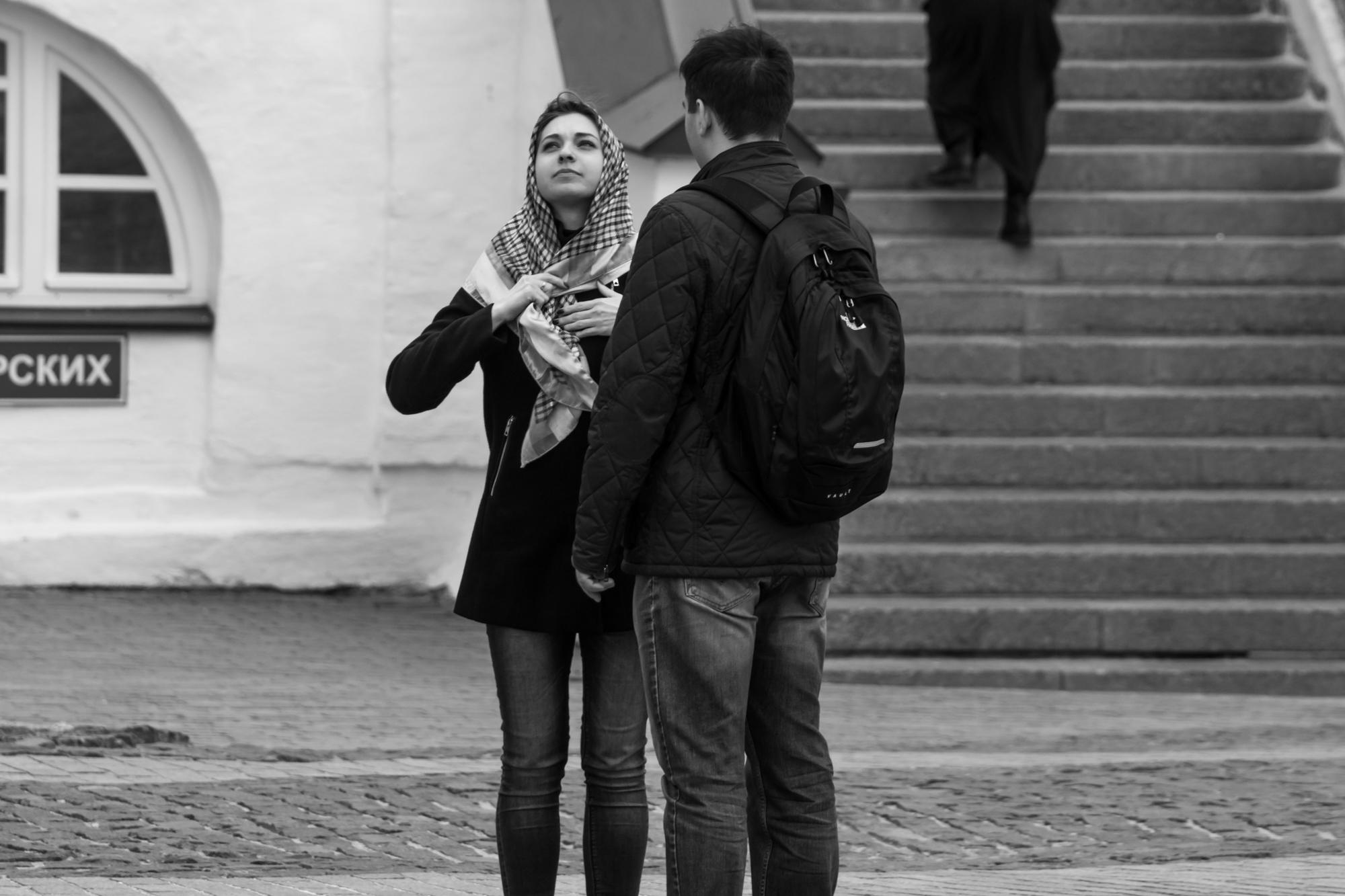 посетители Лавры