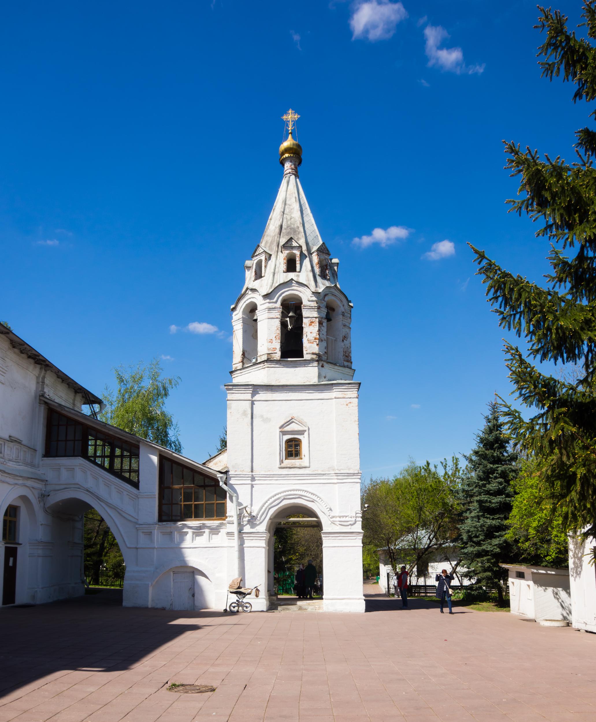 Колокольня церкви Казанской иконы Божией Матери в Коломенском