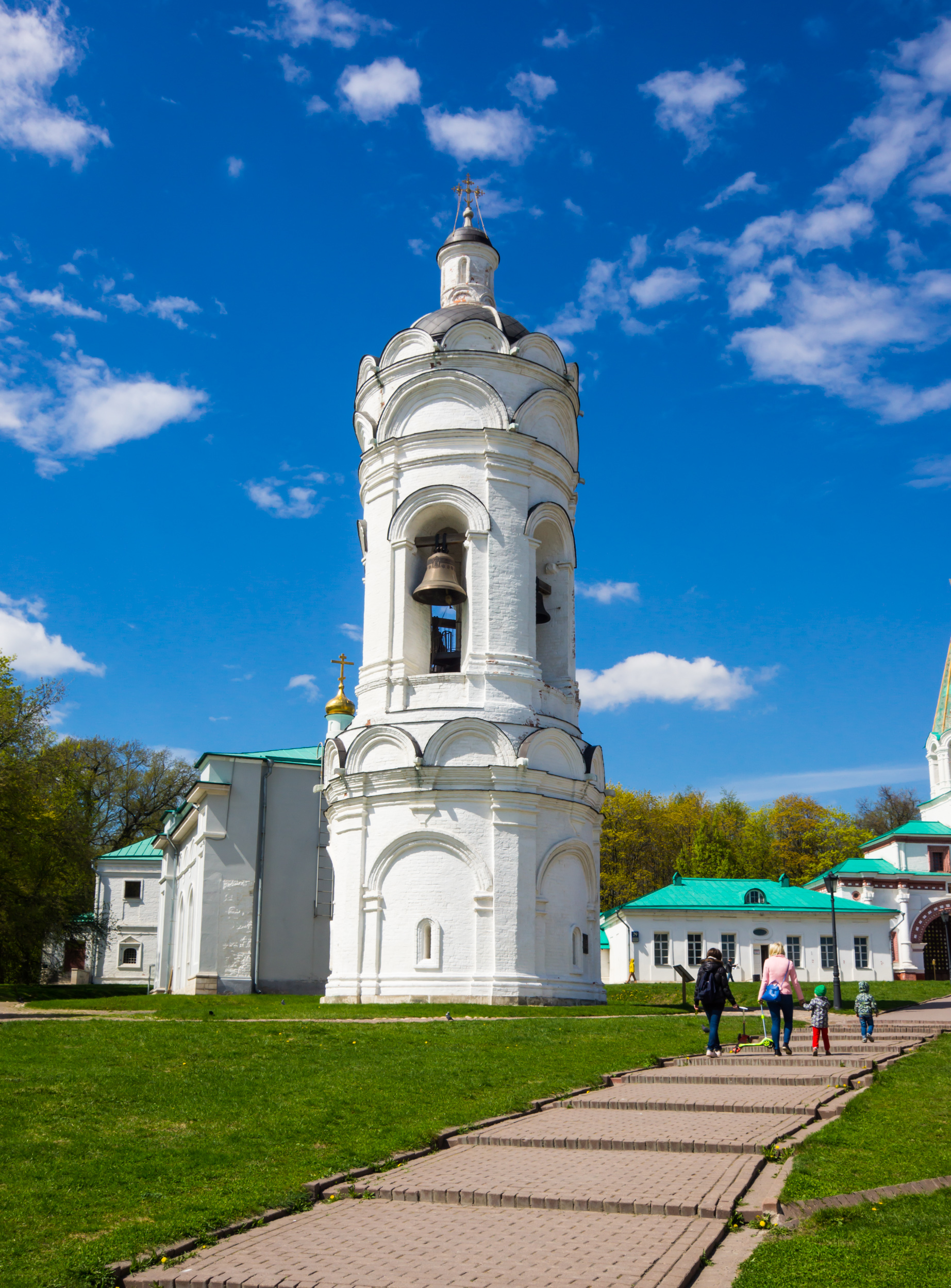 Колокольня церкви святого Георгия