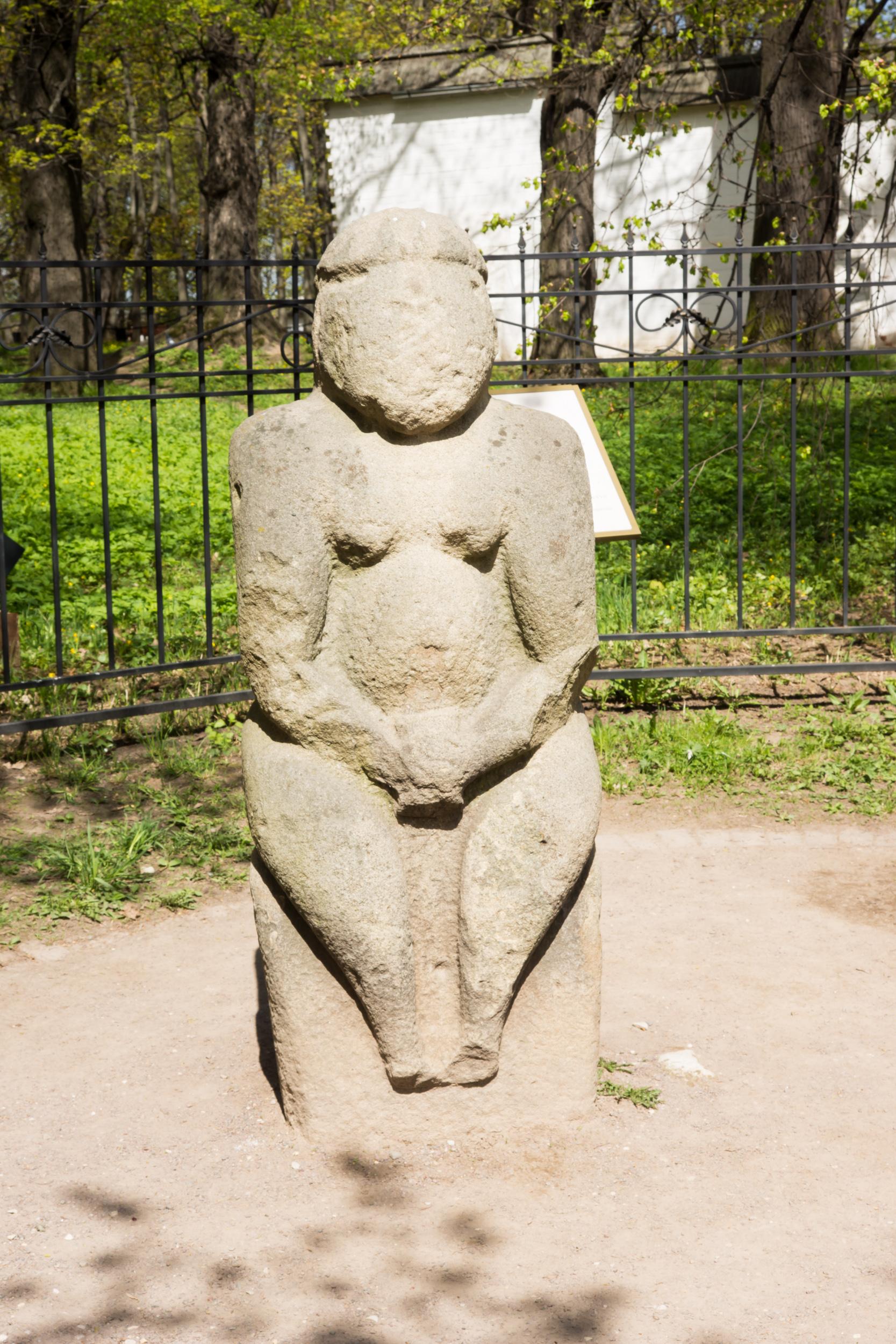 половецкая каменная баба