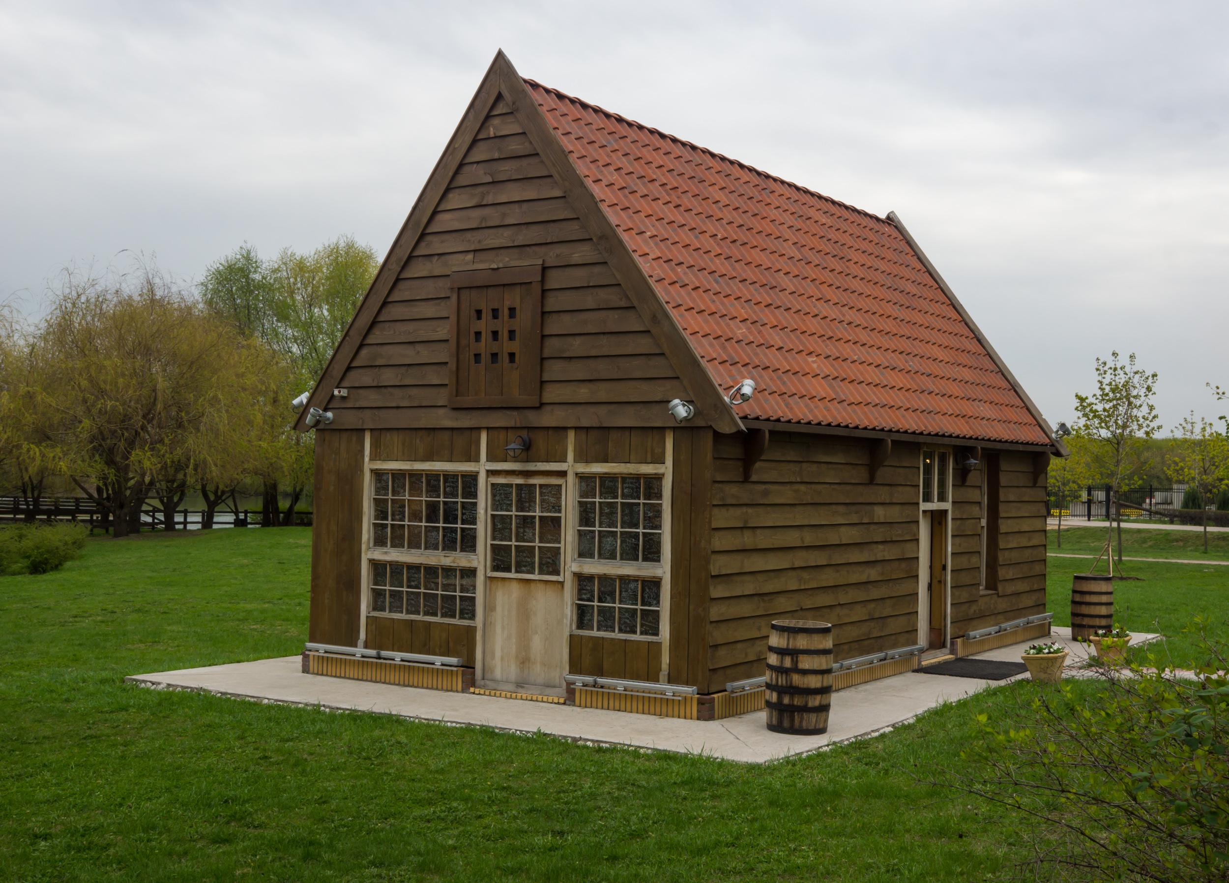 домик Петра 1 из Голландии