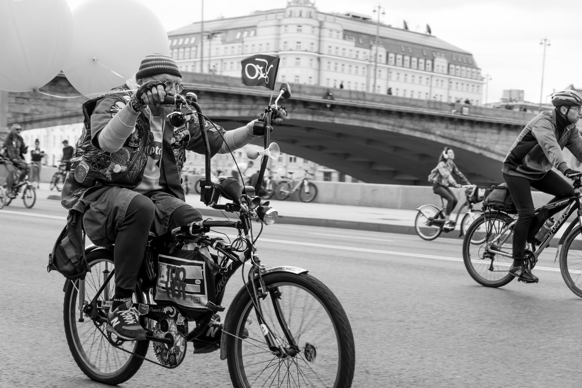 Москва - Осенний велопарад 2017