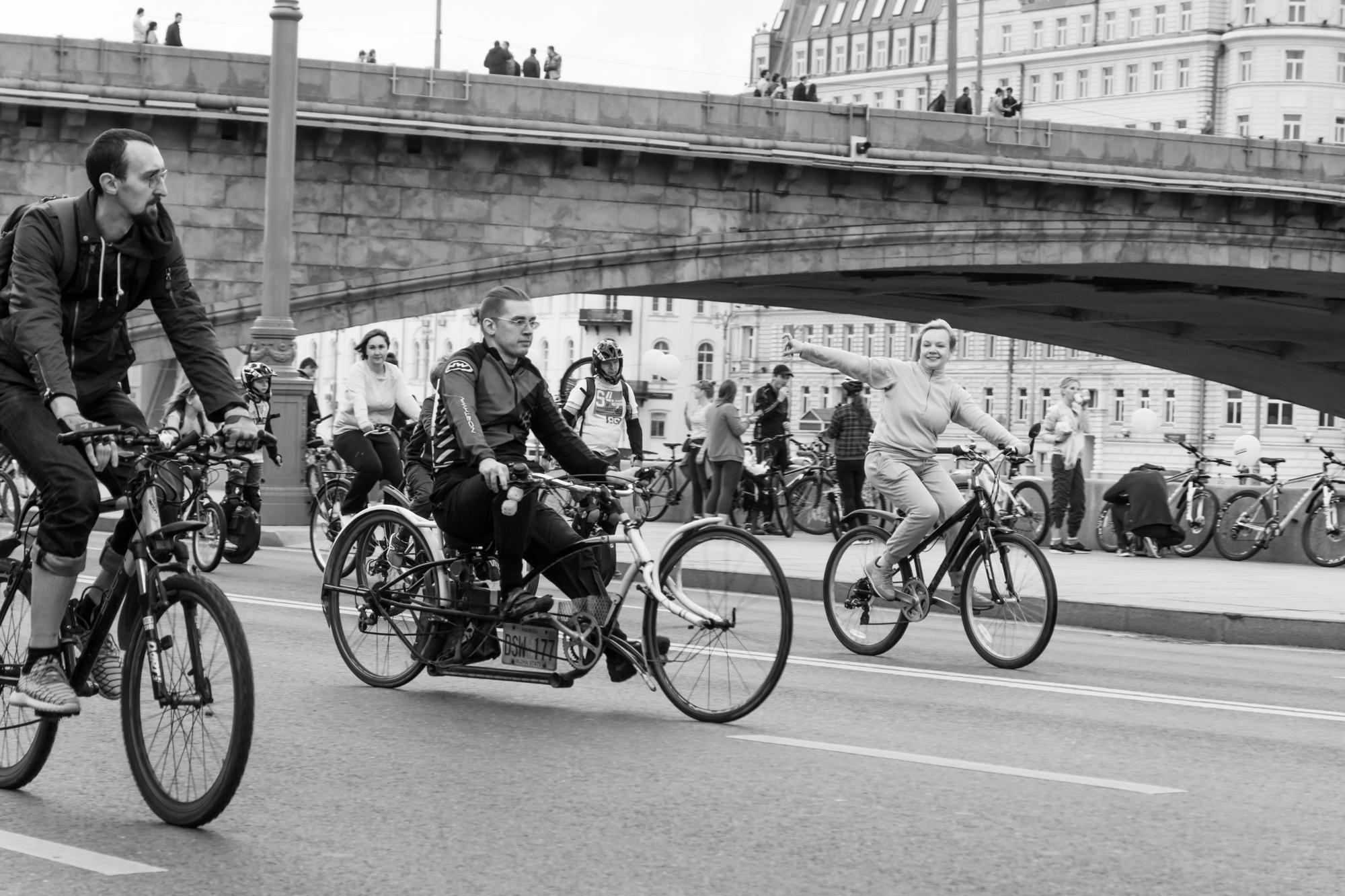 Москва - велопарад 17 сентября 2017