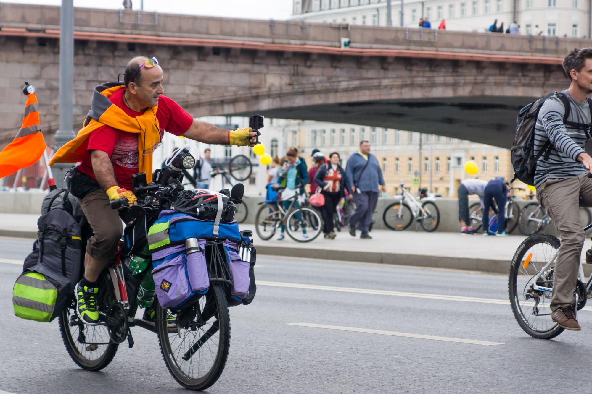 Московский международный осенний велопарад