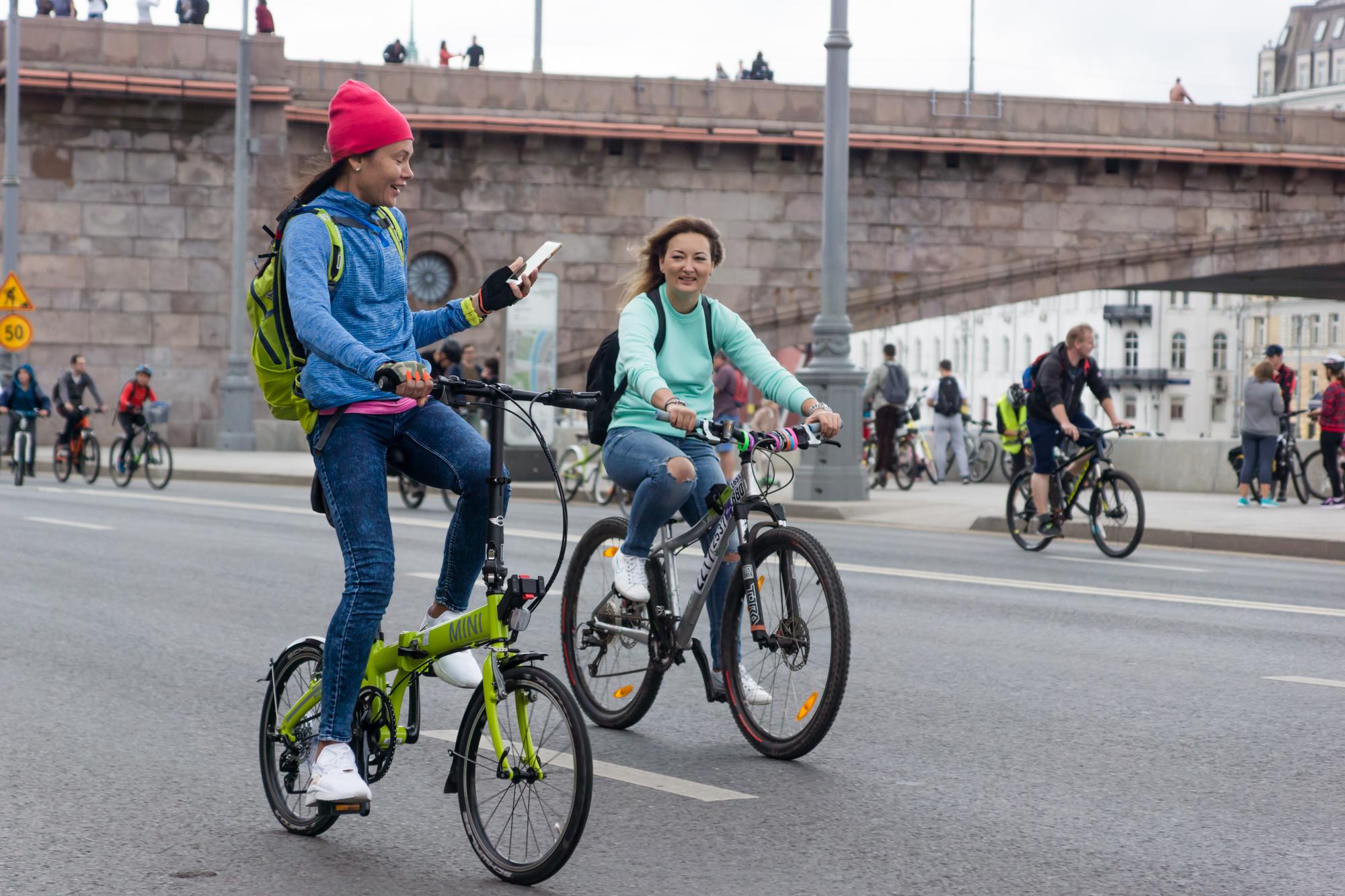 Осенний Московский велопарад 2017